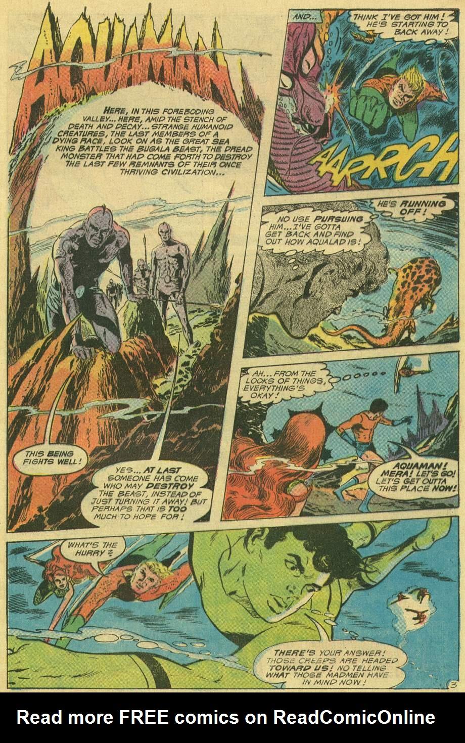 Read online Aquaman (1962) comic -  Issue #48 - 5