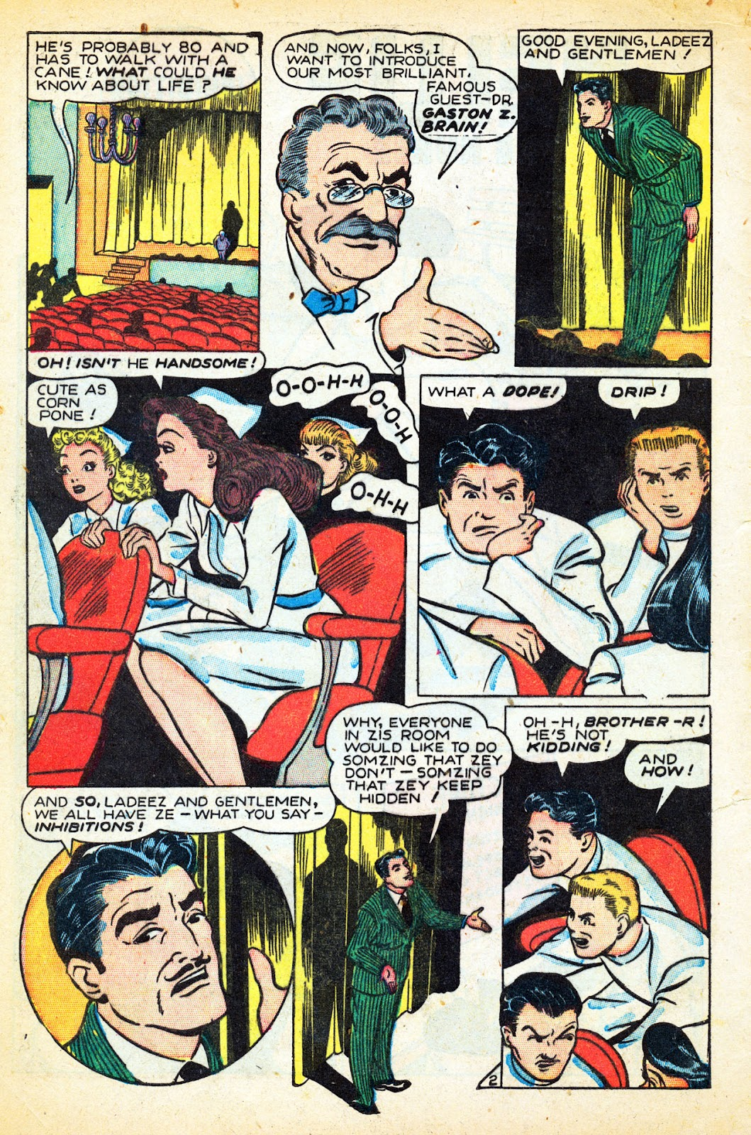 Read online Nellie The Nurse (1945) comic -  Issue #12 - 4