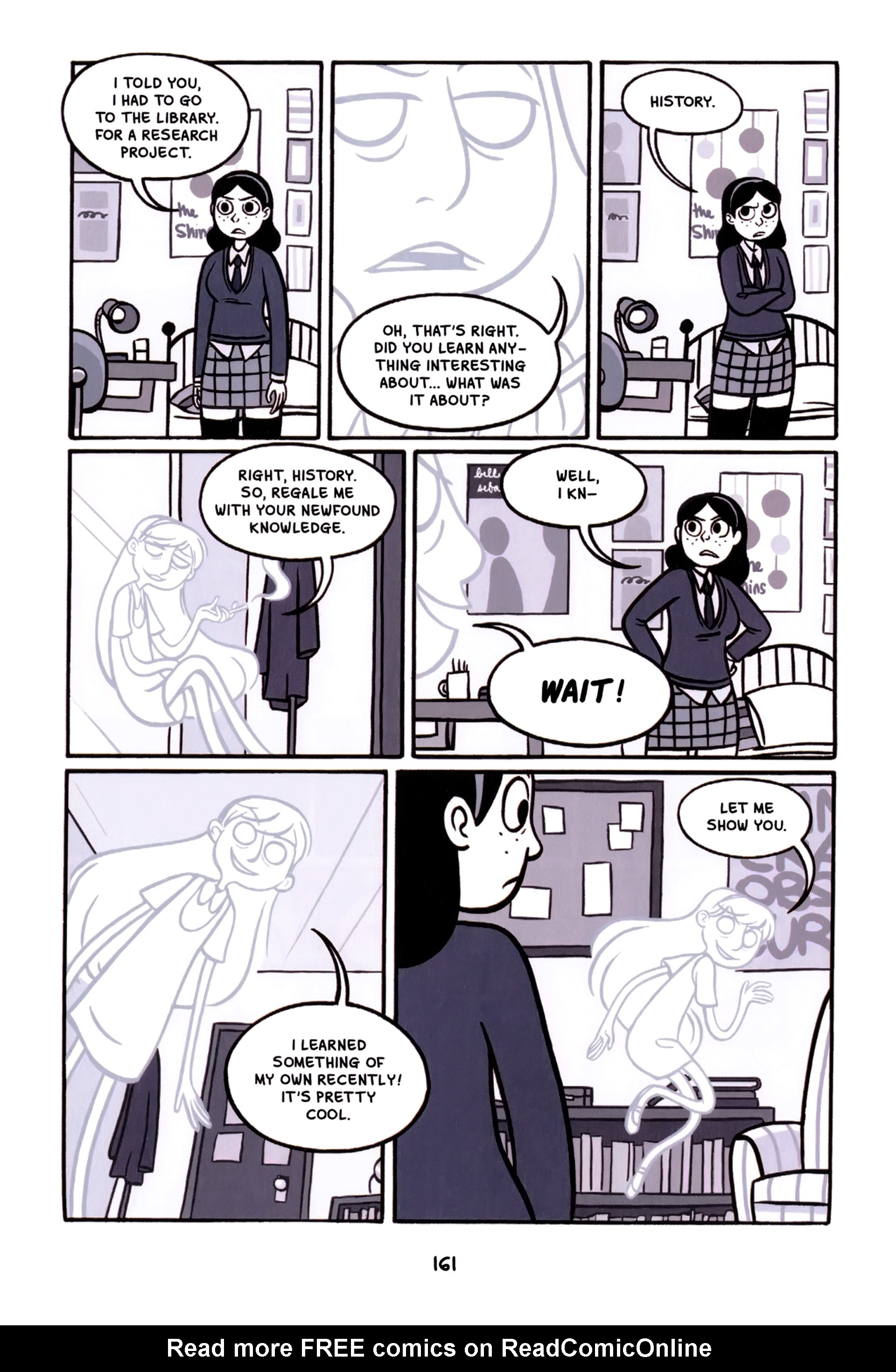 Read online Anya's Ghost comic -  Issue #1 - 162