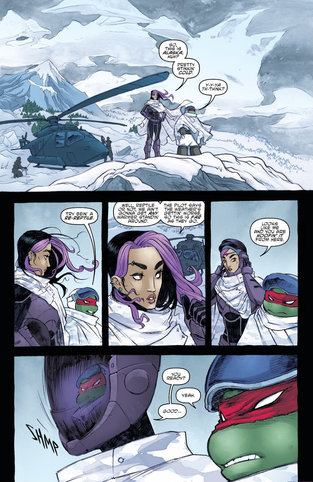 Read online Teenage Mutant Ninja Turtles: The IDW Collection comic -  Issue # TPB 8 (Part 3) - 93