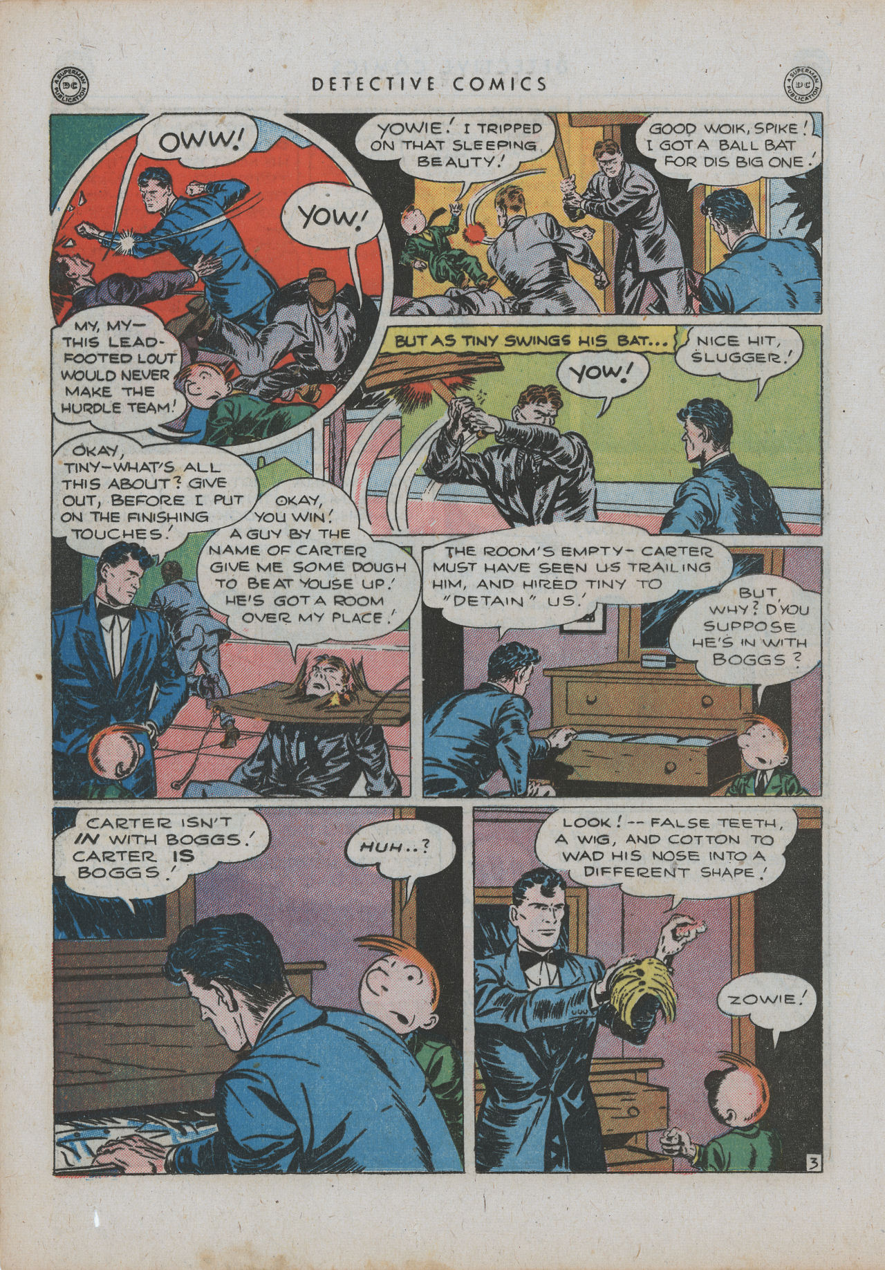 Read online Detective Comics (1937) comic -  Issue #99 - 19