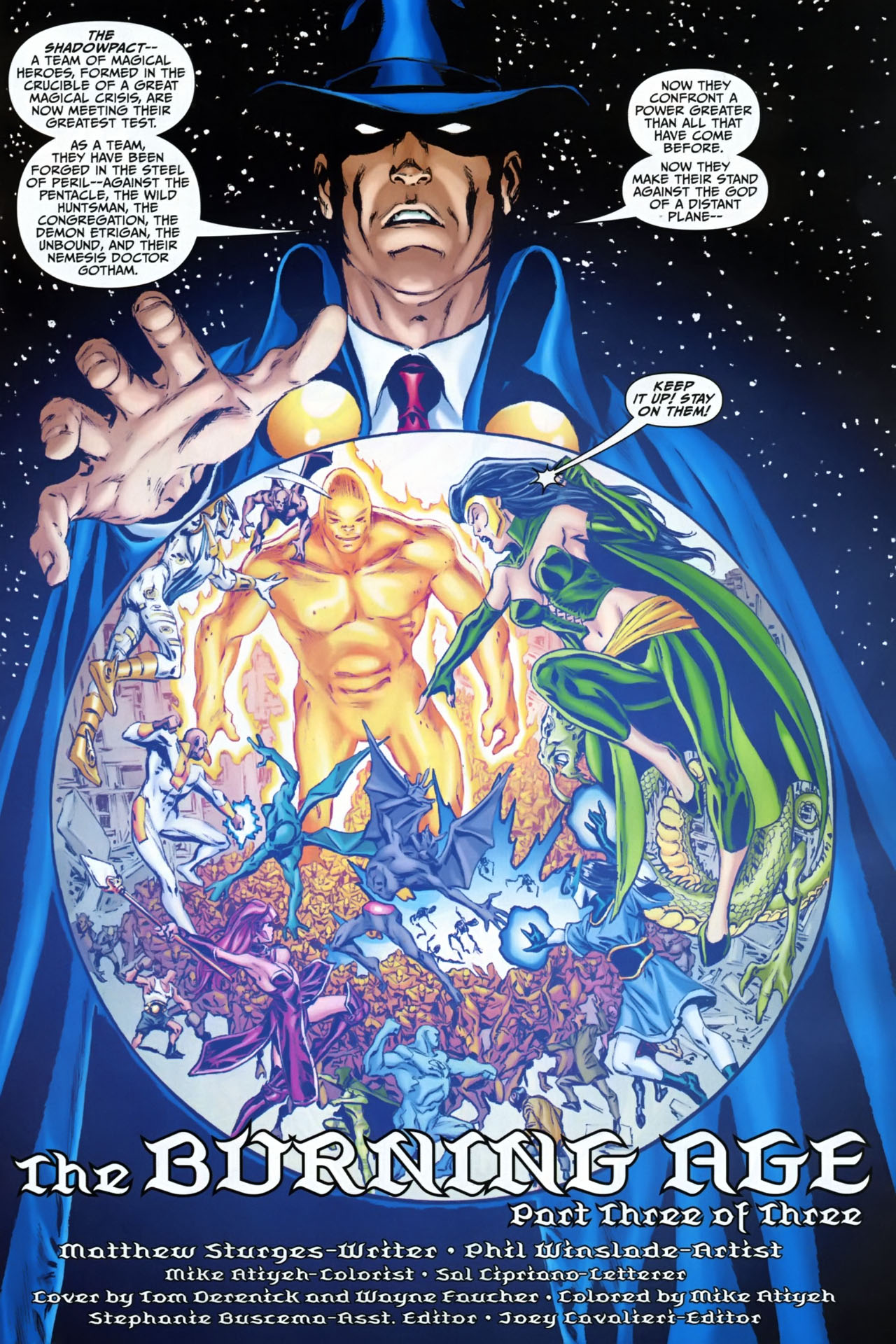 Read online Shadowpact comic -  Issue #25 - 2