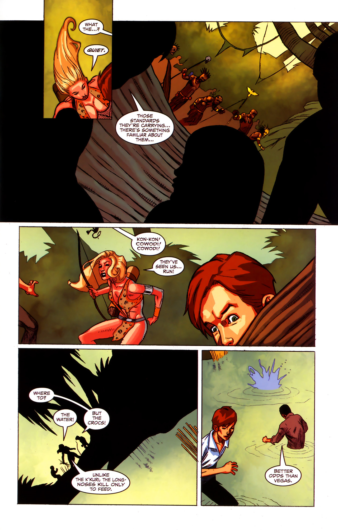 Read online Sheena Queen of the Jungle: Dark Rising comic -  Issue #1 - 20