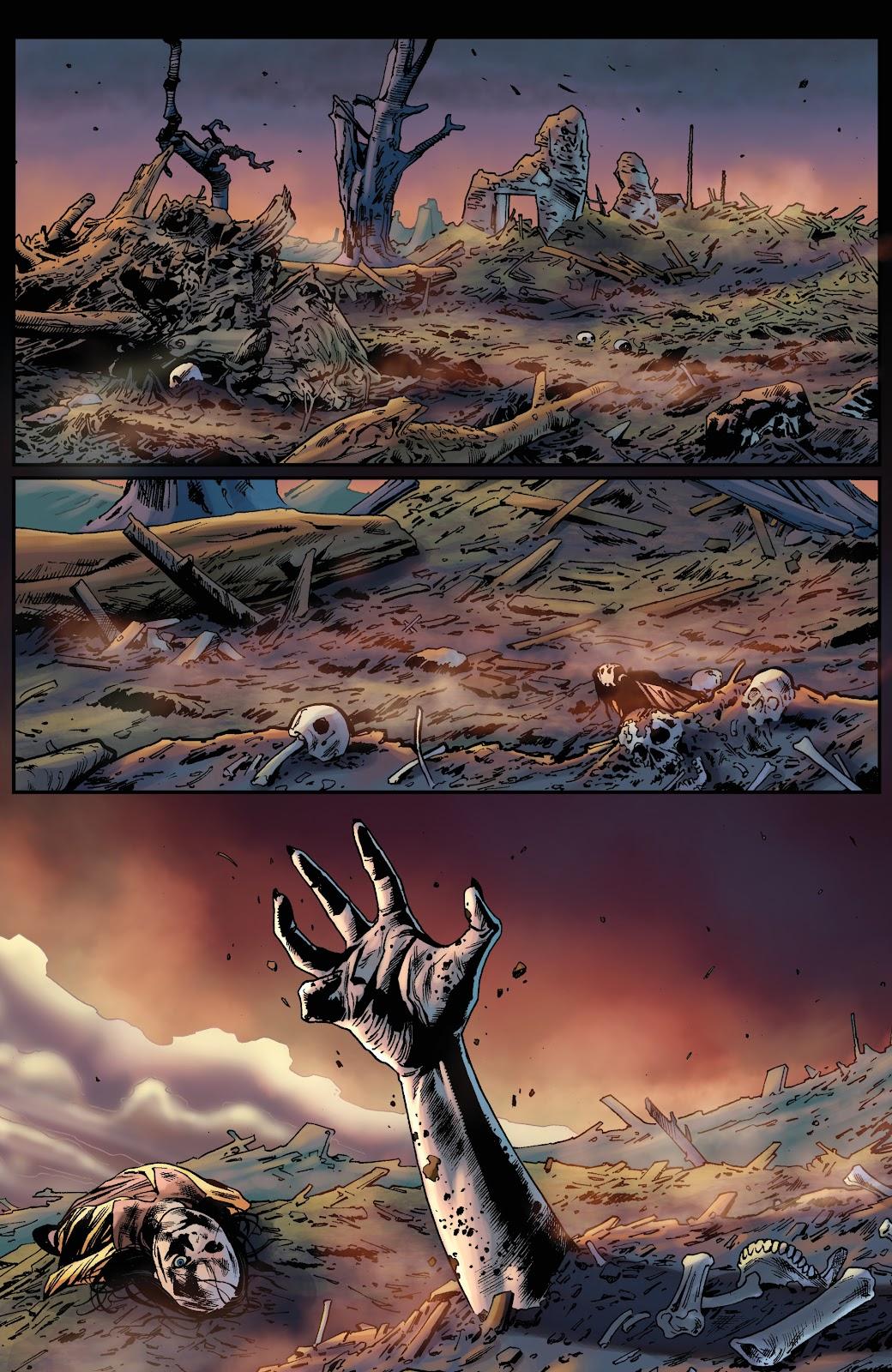 Read online Vengeance of Vampirella (2019) comic -  Issue #1 - 27
