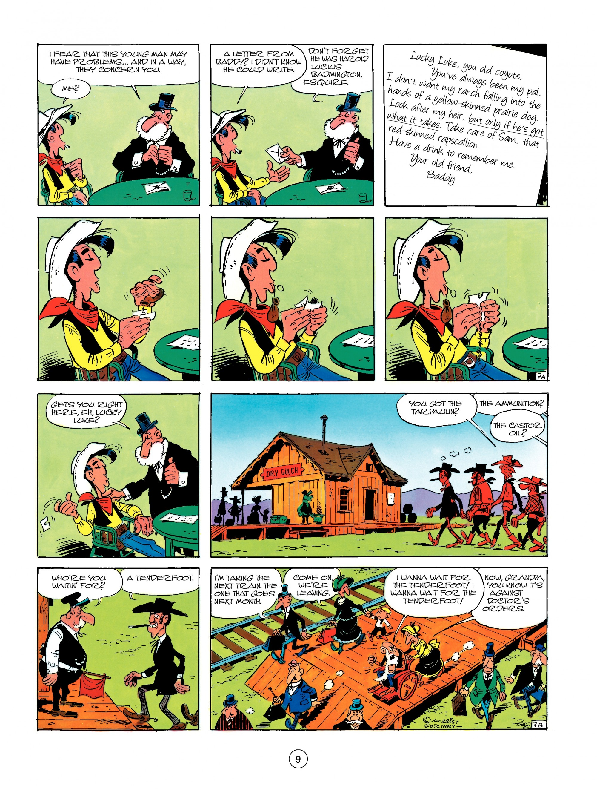 Read online A Lucky Luke Adventure comic -  Issue #13 - 9