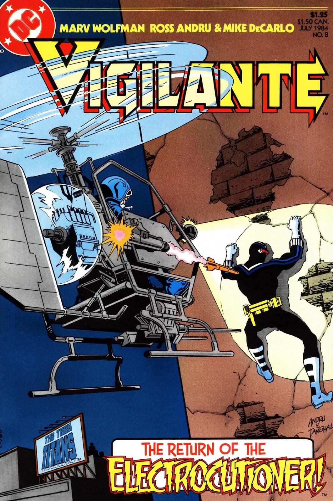 Vigilante (1983) issue 8 - Page 1
