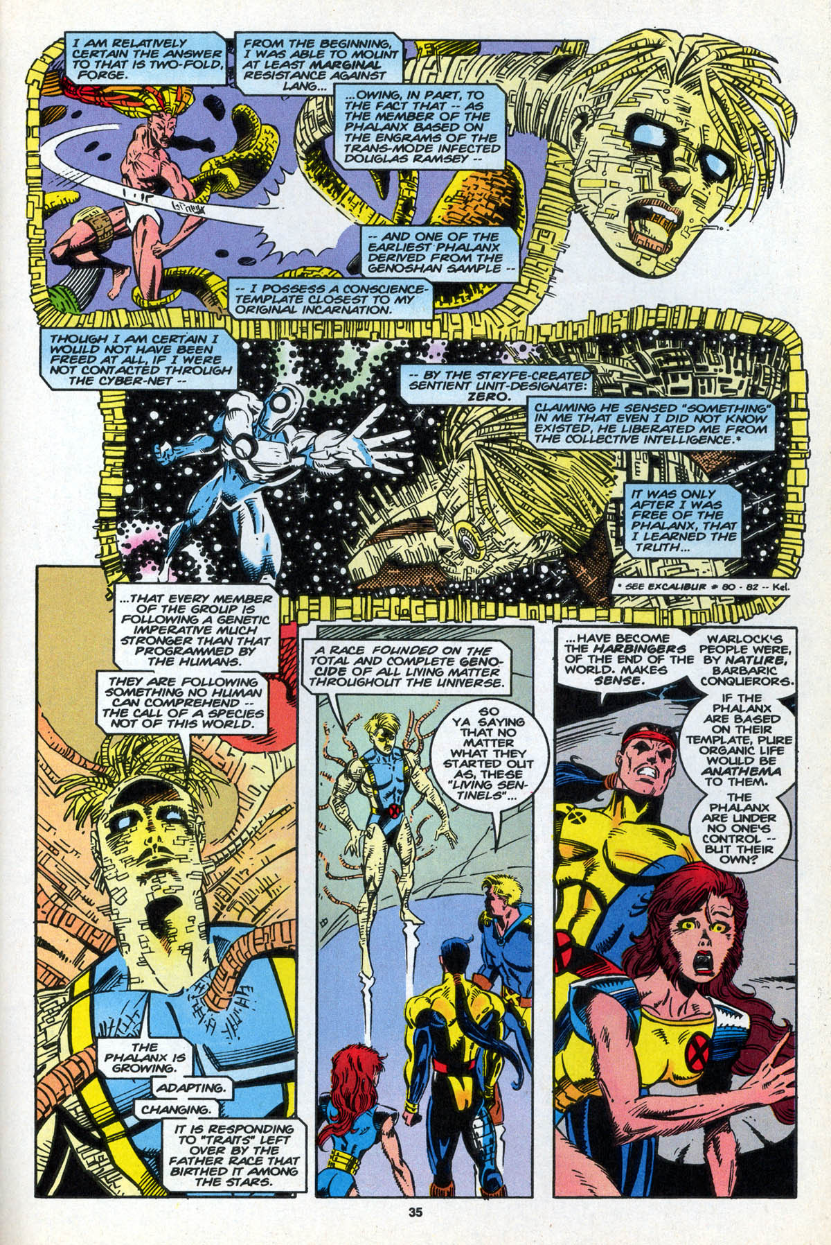 Read online X-Factor (1986) comic -  Issue #106 - 35