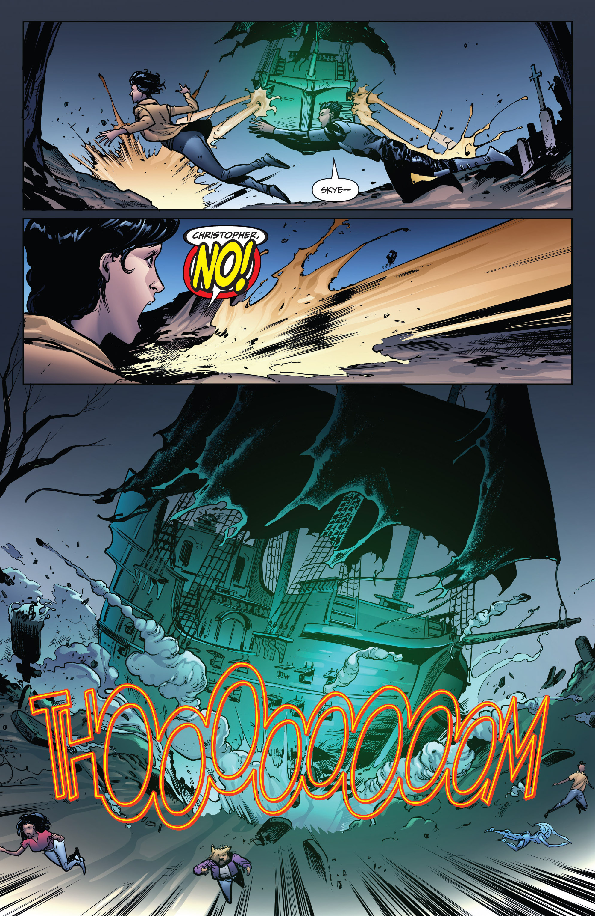 Read online Grimm Fairy Tales: Arcane Acre comic -  Issue # TPB 4 - 153
