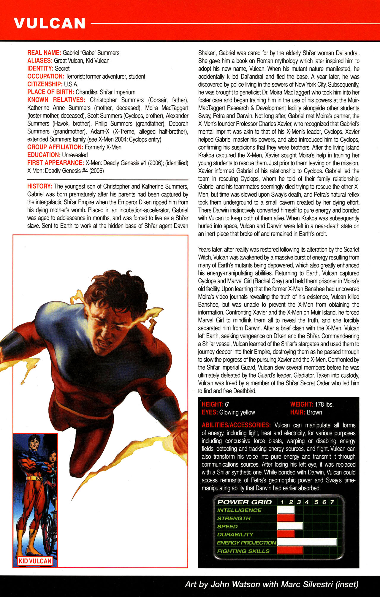 Read online All-New Official Handbook of the Marvel Universe A to Z comic -  Issue #12 - 24