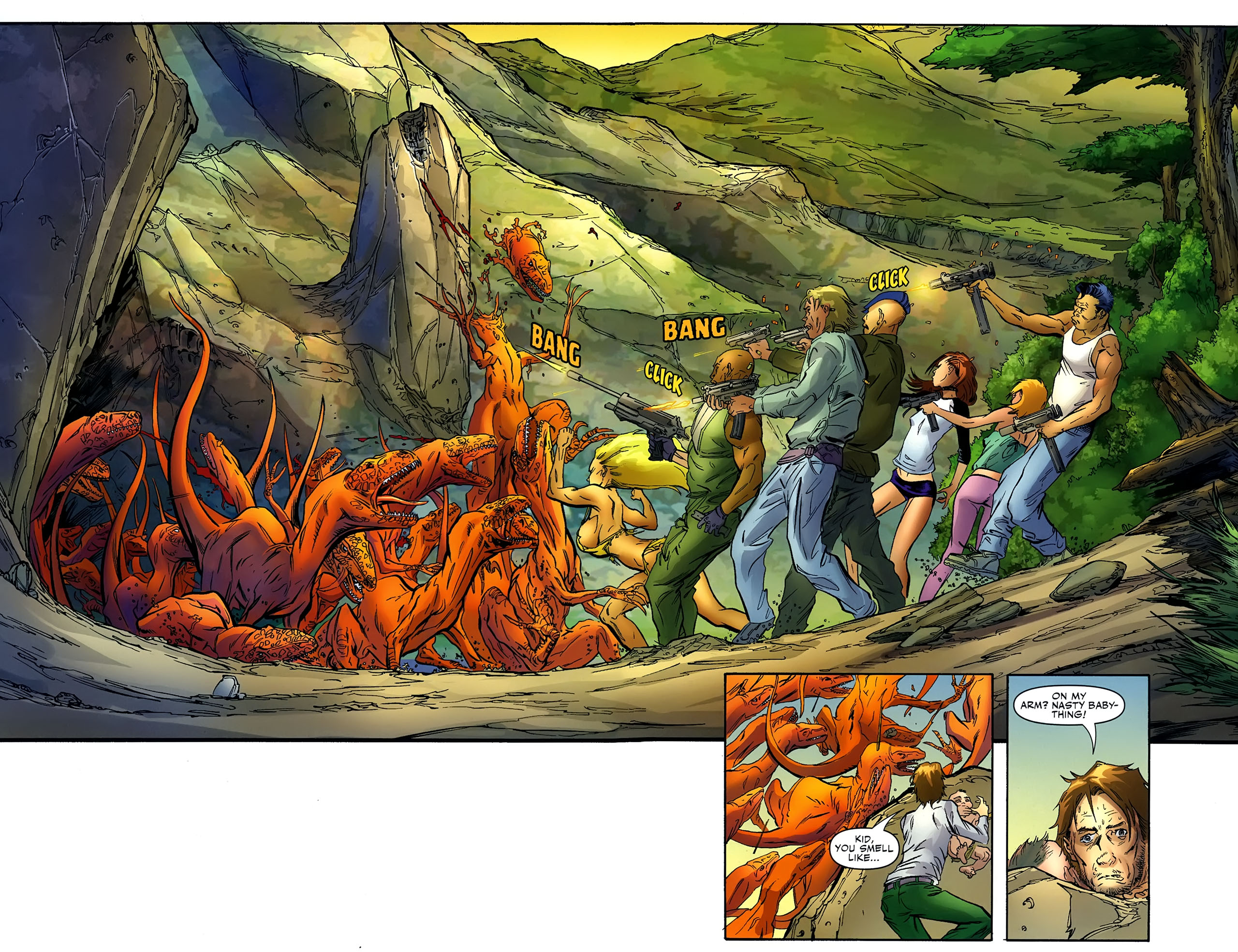 Read online Shanna the She-Devil: Survival of the Fittest comic -  Issue #4 - 13