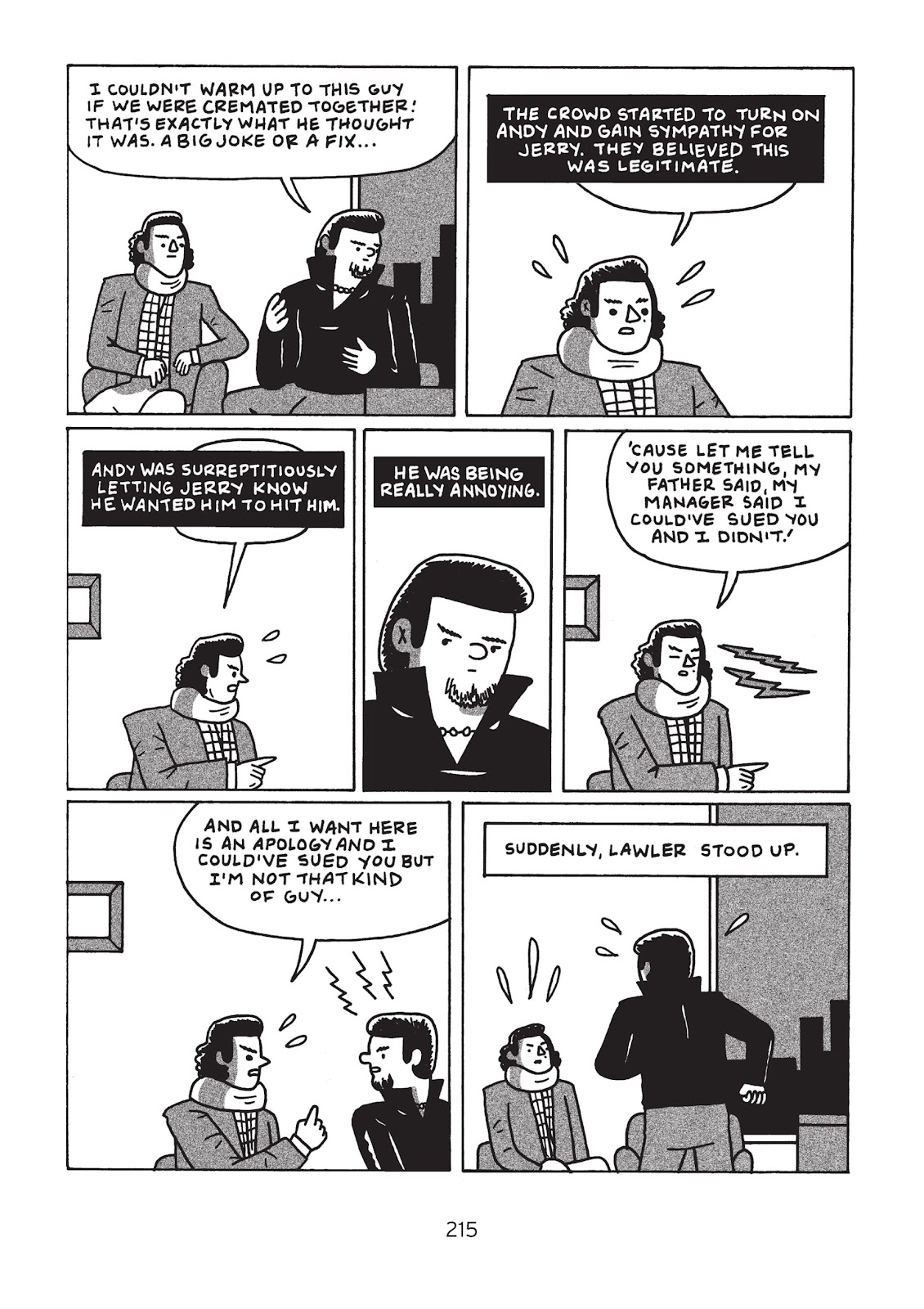 Read online Is This Guy For Real?: The Unbelievable Andy Kaufman comic -  Issue # TPB (Part 3) - 20