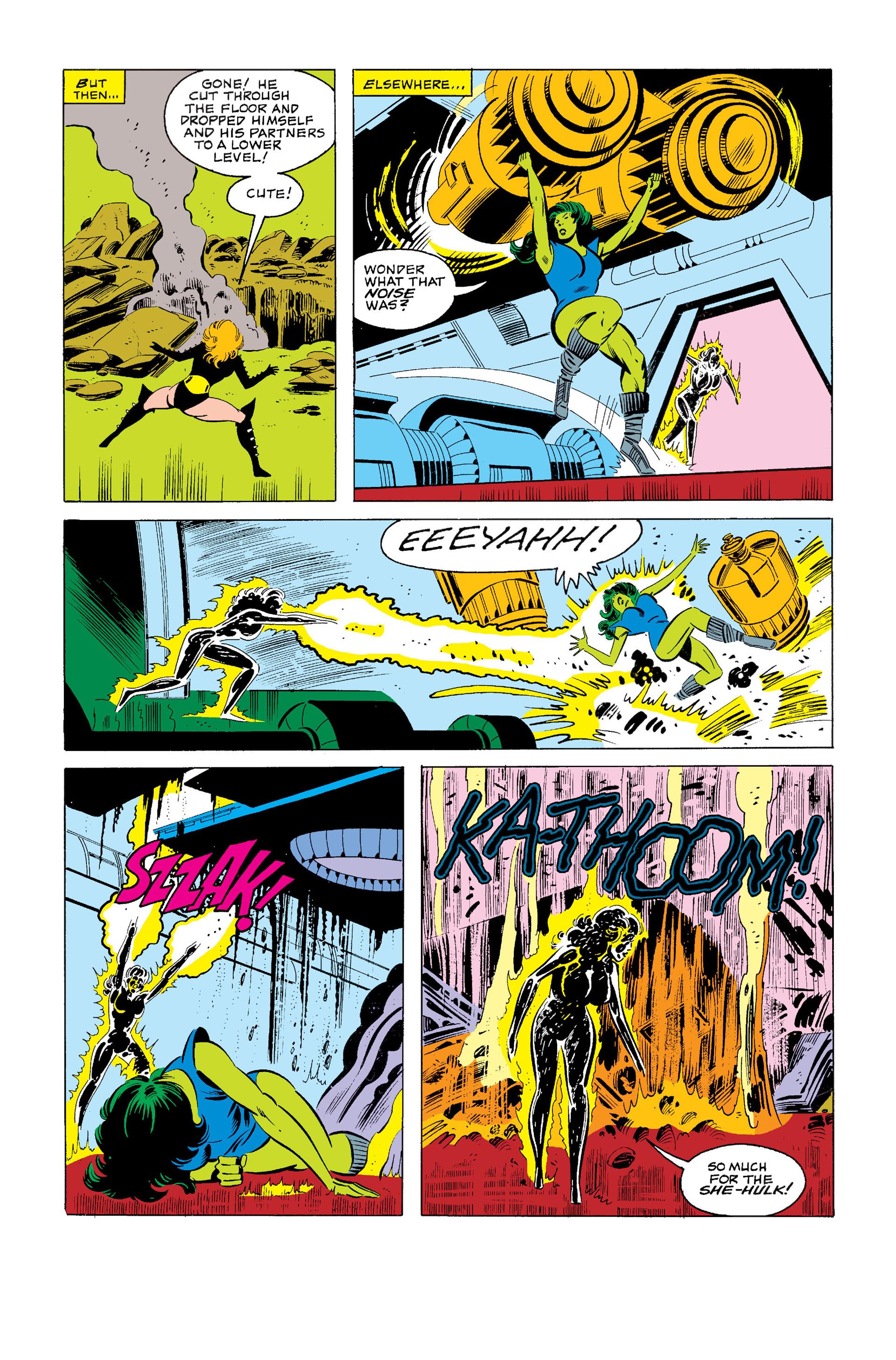 Read online Secret Wars (1985) comic -  Issue #3 - 23