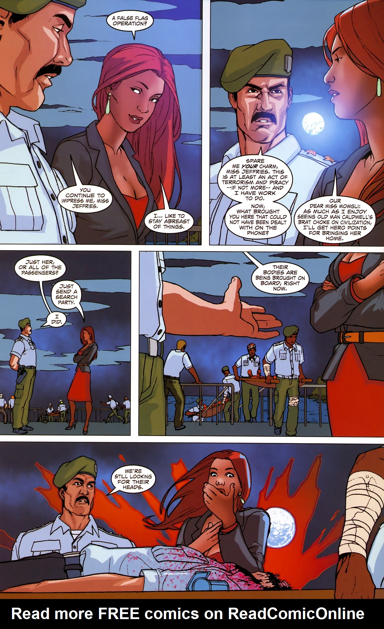 Read online Sheena Queen of the Jungle: Dark Rising comic -  Issue #2 - 21