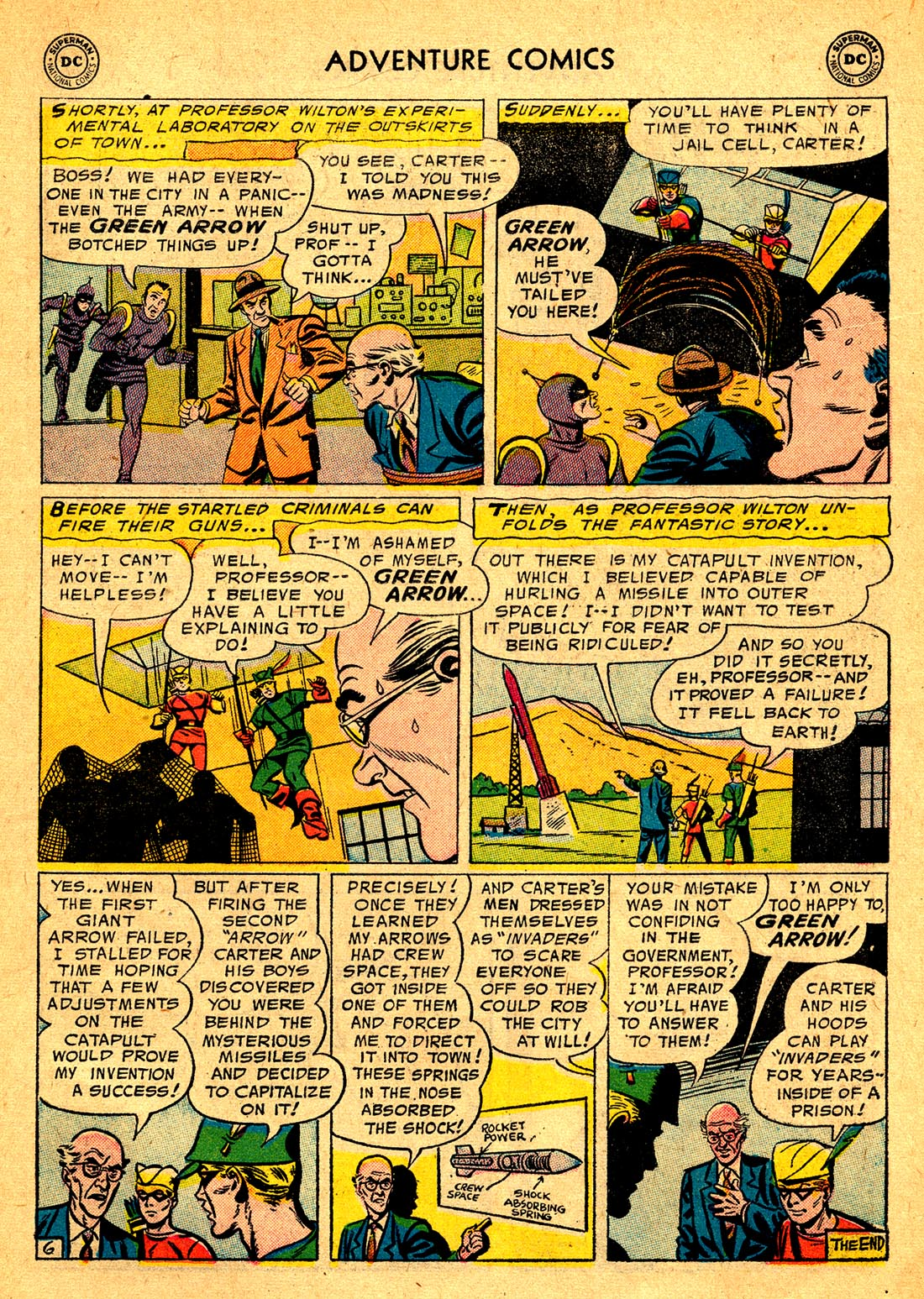 Read online Adventure Comics (1938) comic -  Issue #220 - 33
