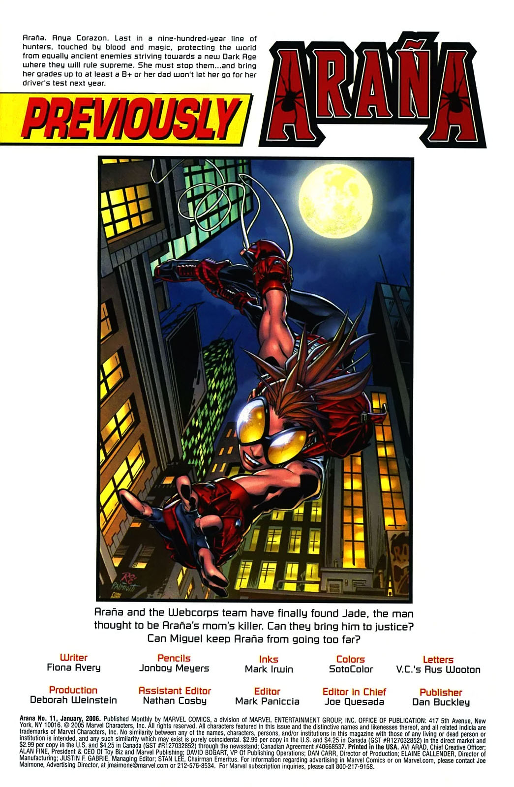 Read online Araña: Heart of the Spider comic -  Issue #11 - 2