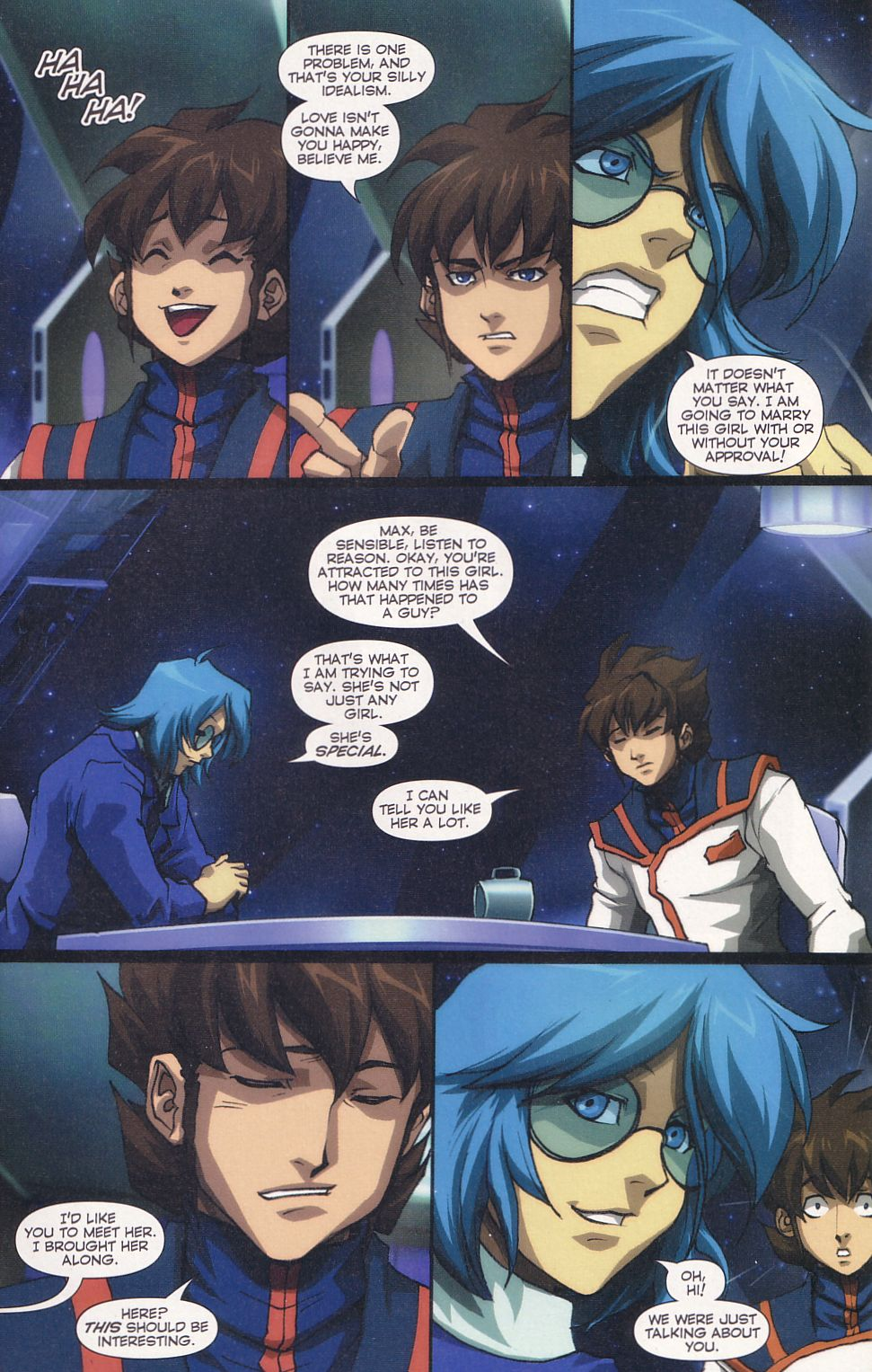 Read online Robotech: Love and War comic -  Issue #6 - 9