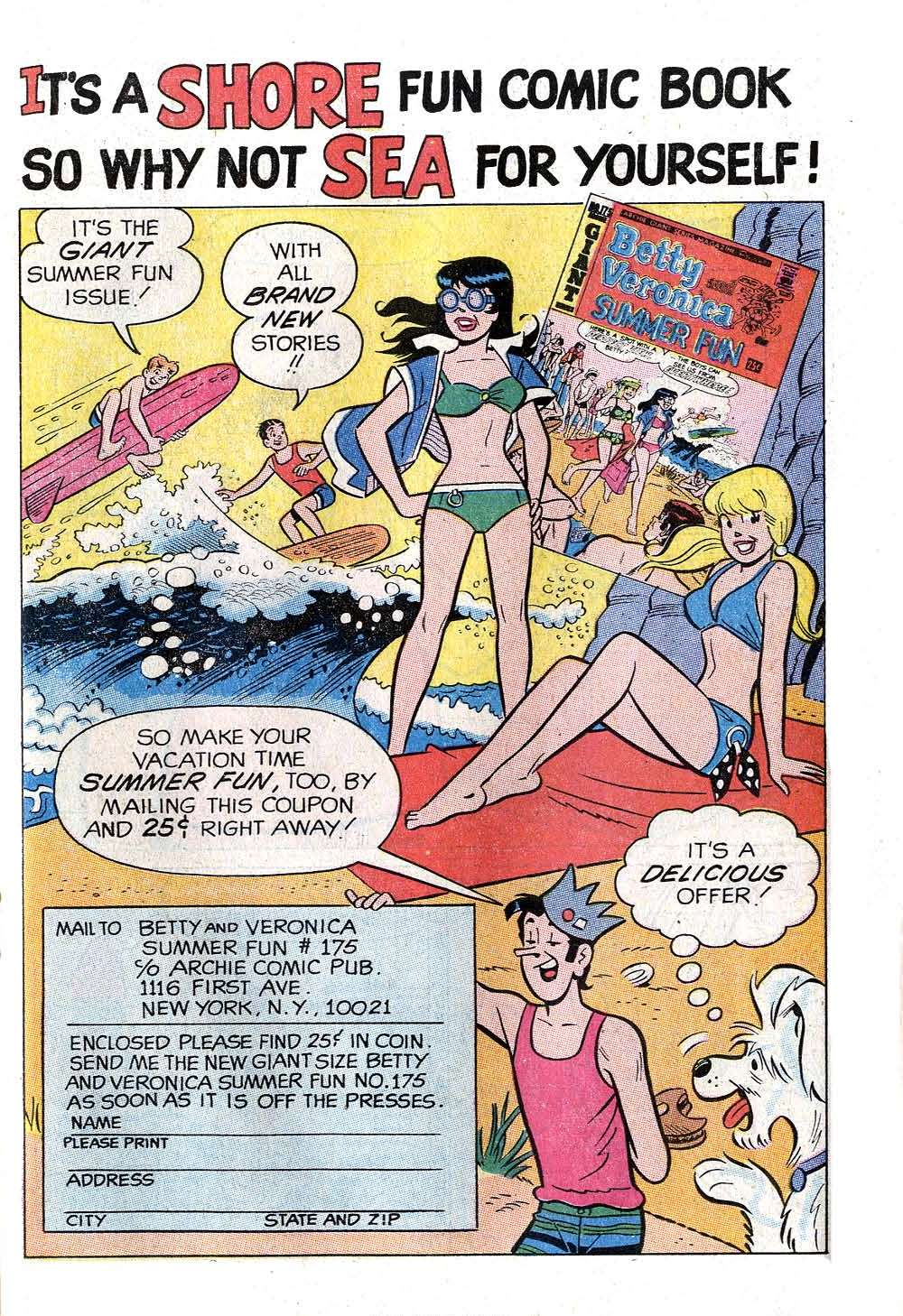 Read online Archie (1960) comic -  Issue #202 - 19