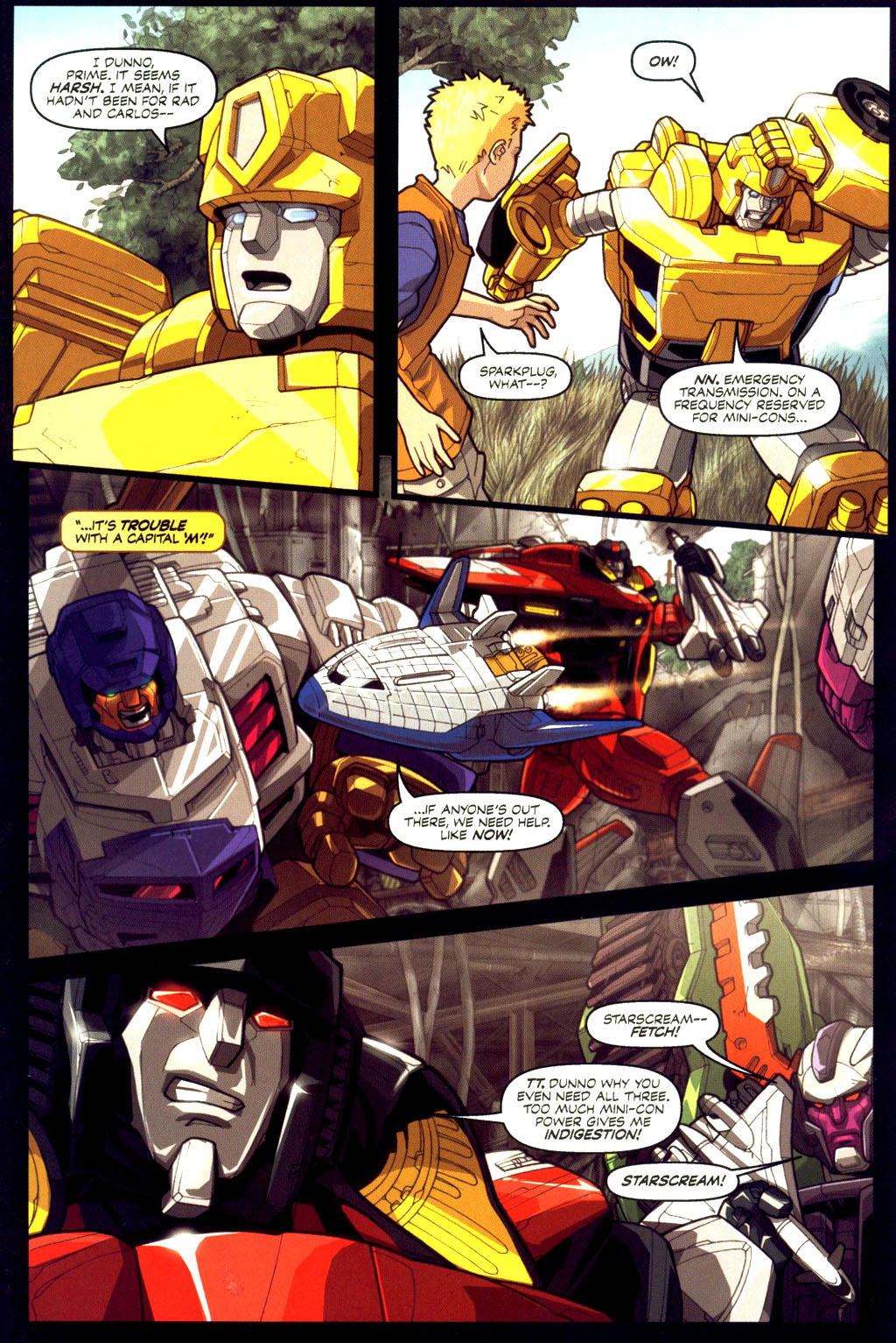Read online Transformers Armada comic -  Issue #6 - 13