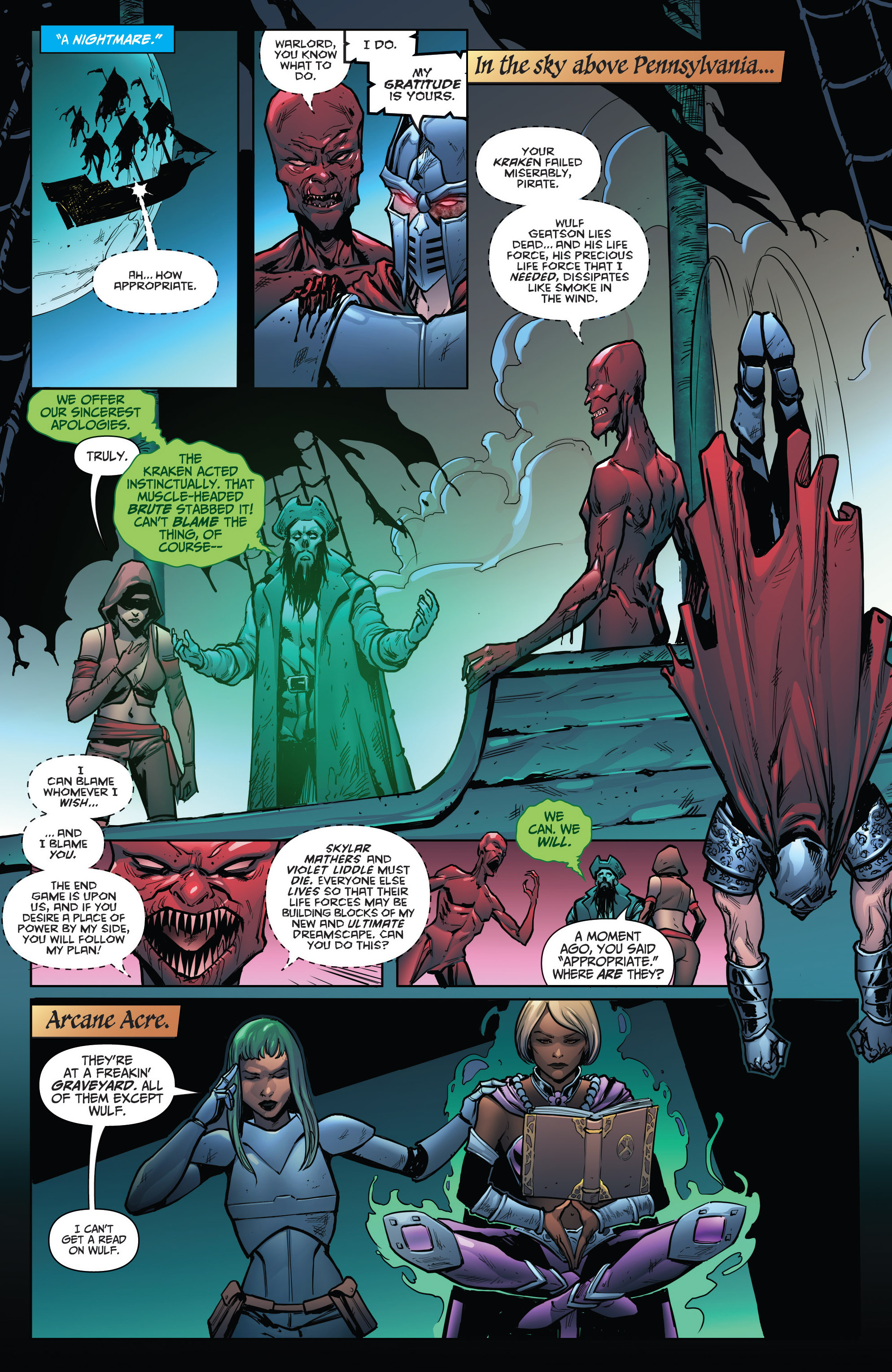 Read online Grimm Fairy Tales: Arcane Acre comic -  Issue # TPB 4 - 149