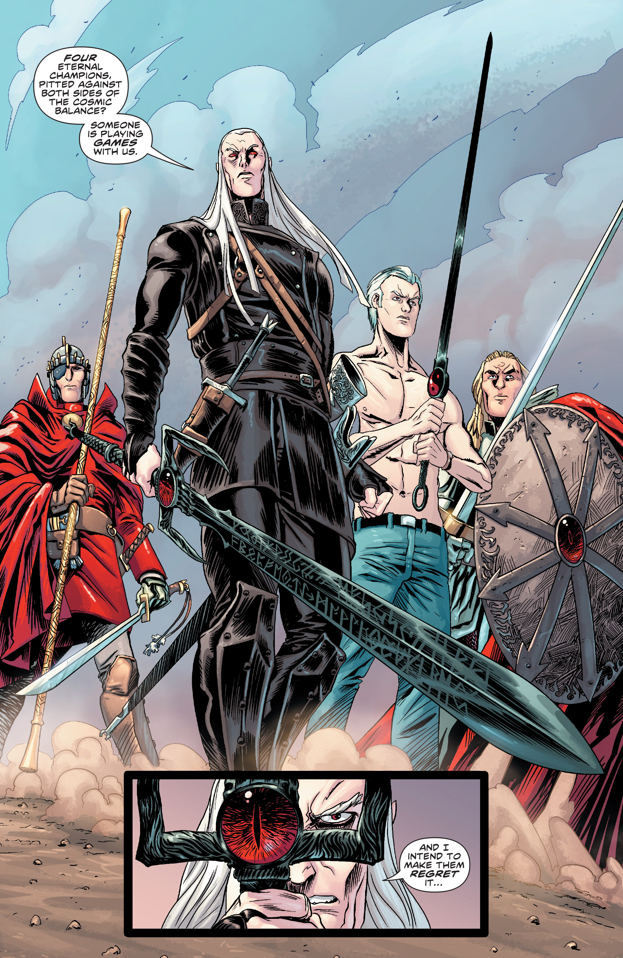 Read online Elric: The Balance Lost comic -  Issue # TPB 2 - 68