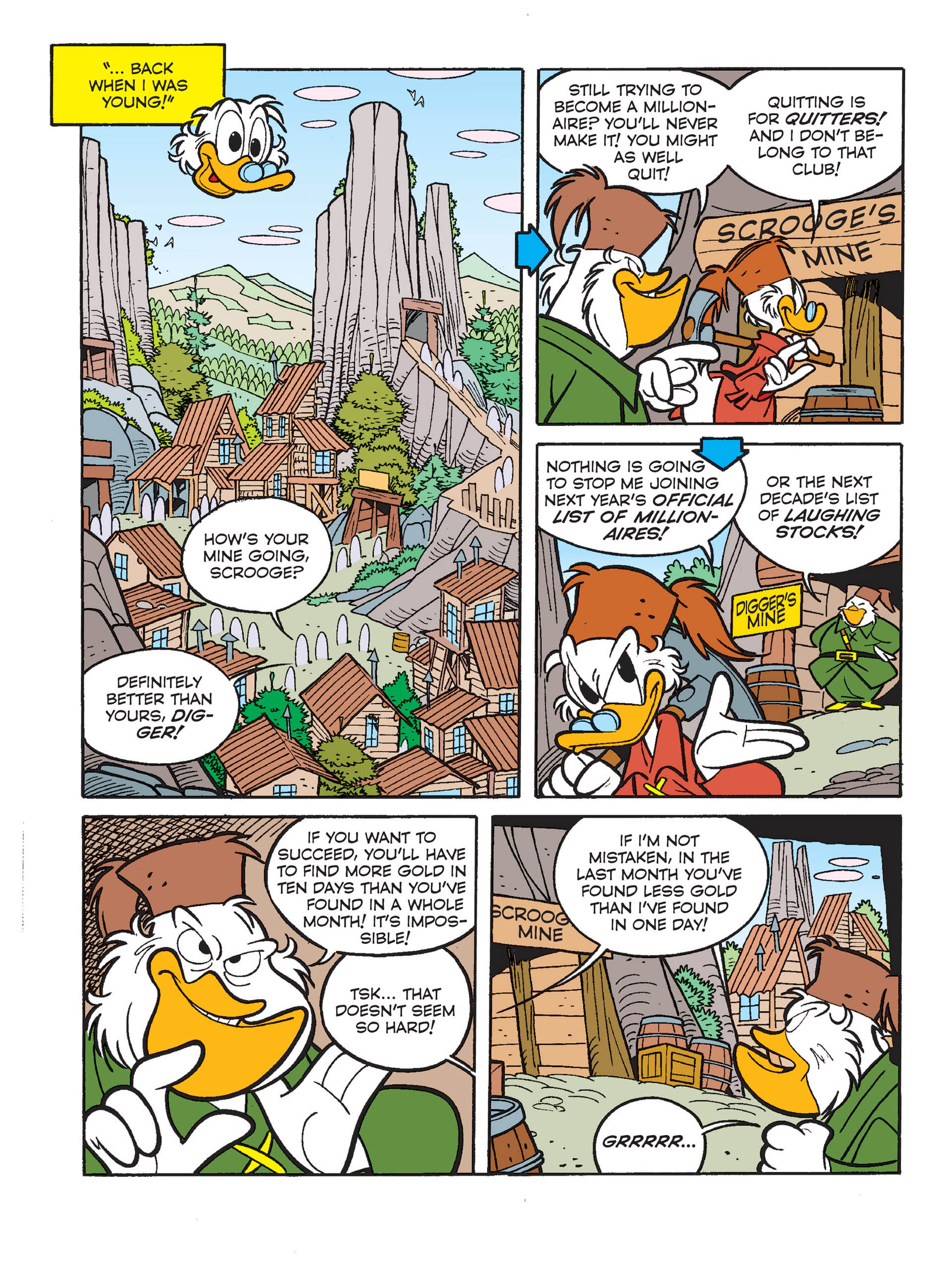 Read online All of Scrooge McDuck's Millions comic -  Issue #1 - 6