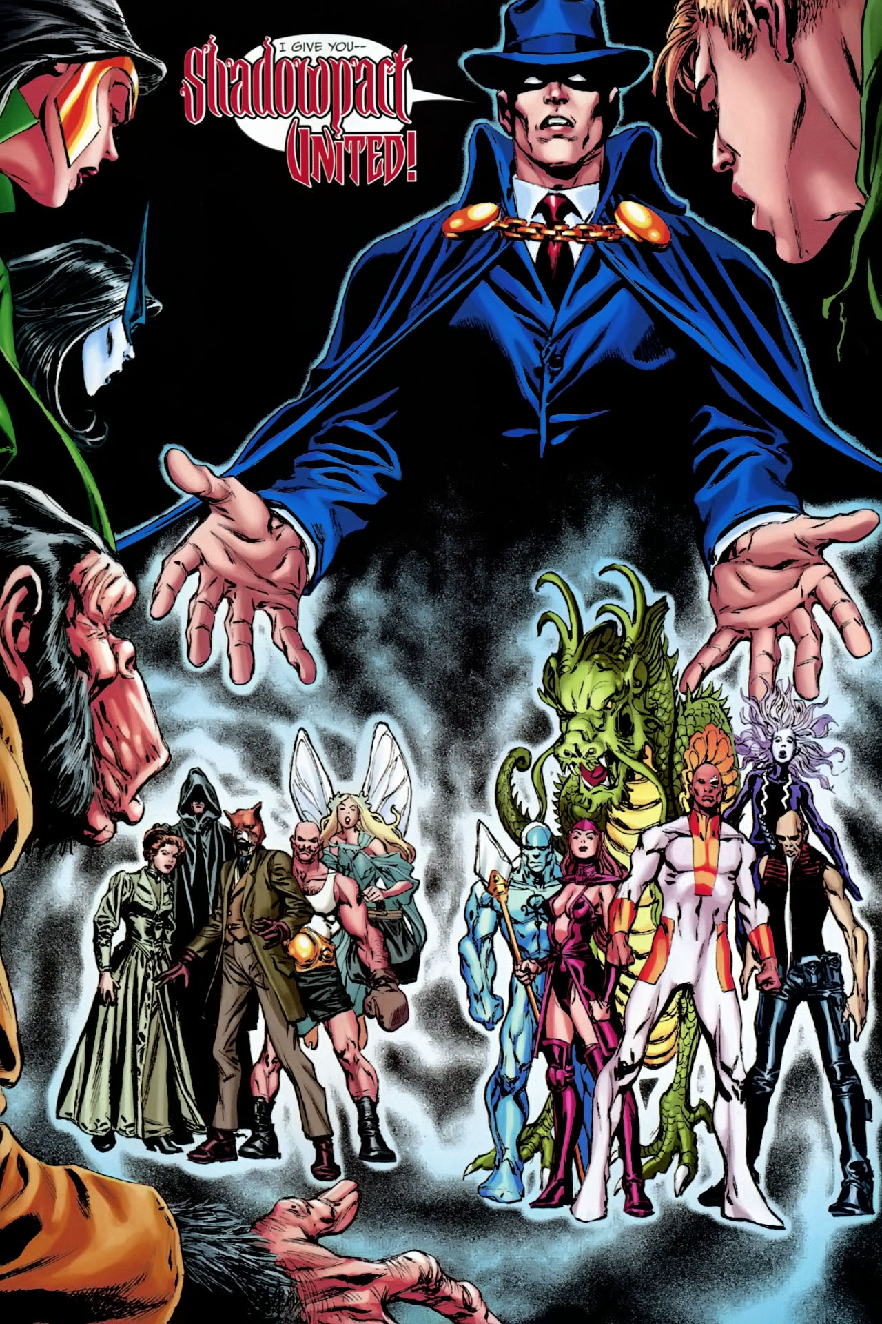 Read online Shadowpact comic -  Issue #23 - 23