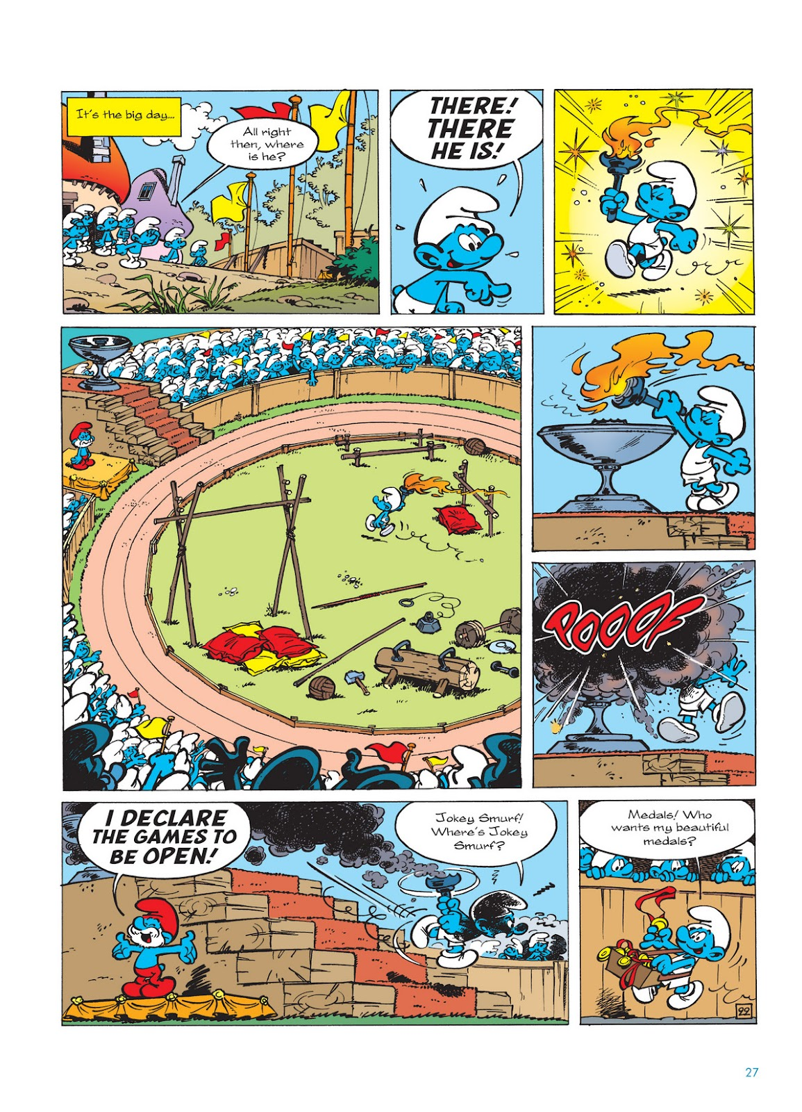 Read online The Smurfs comic -  Issue #11 - 27