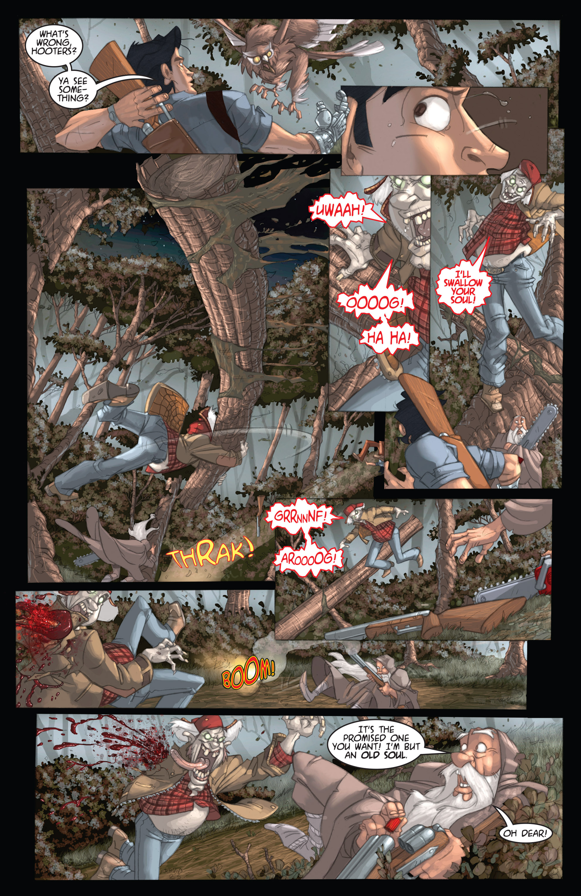 Read online Army of Darkness: Ashes 2 Ashes comic -  Issue #1 - 24
