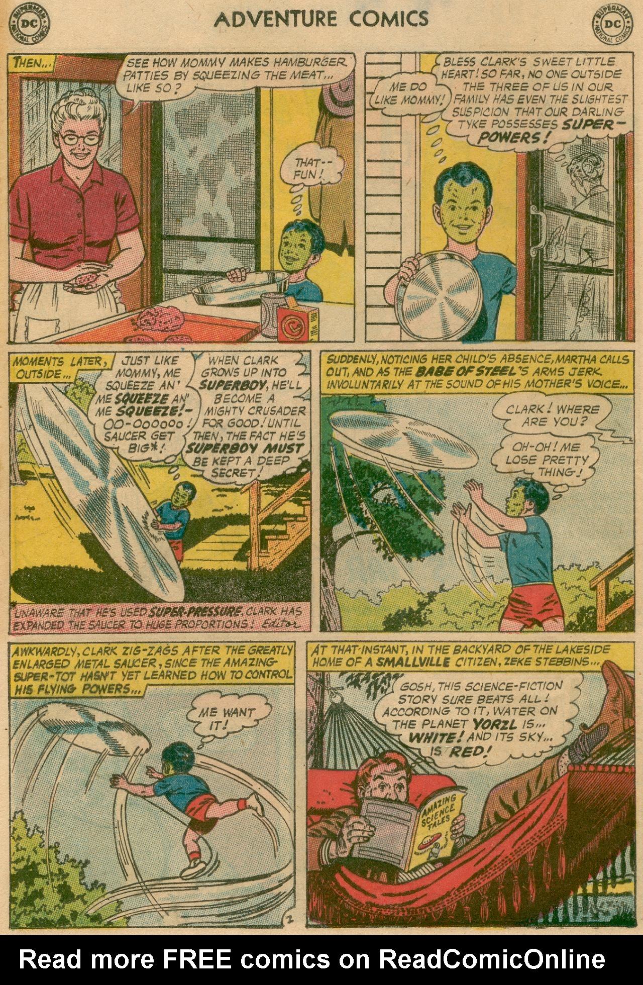 Read online Adventure Comics (1938) comic -  Issue #311 - 22