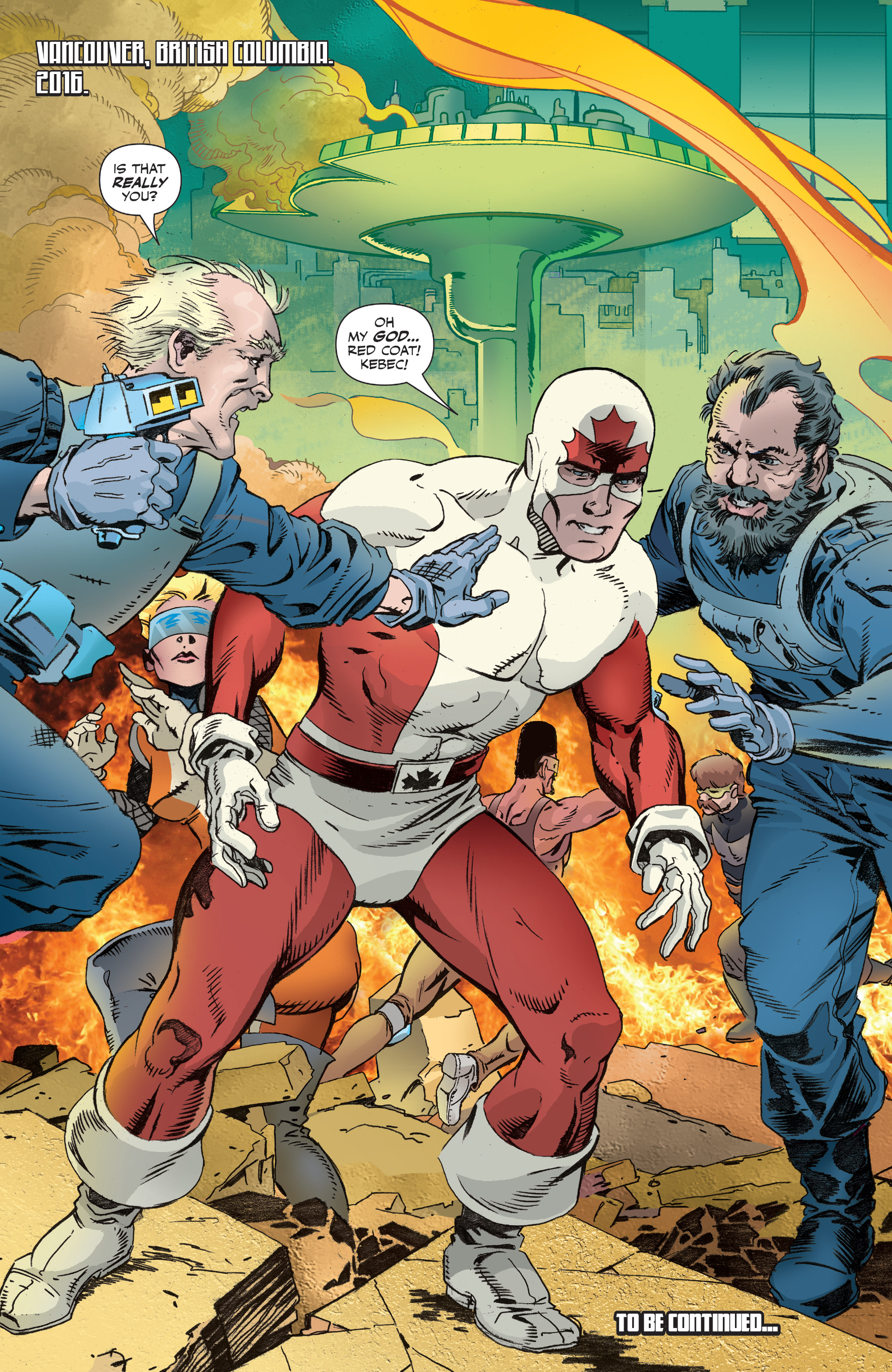 Read online All-New Classic Captain Canuck comic -  Issue #2 - 22
