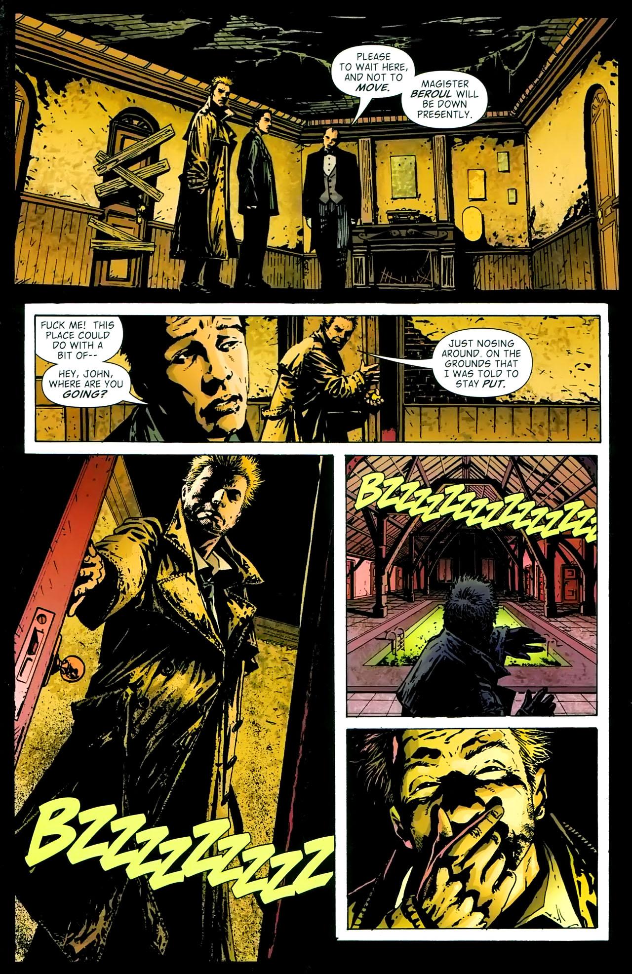 Read online John Constantine Hellblazer: All His Engines comic -  Issue # Full - 37