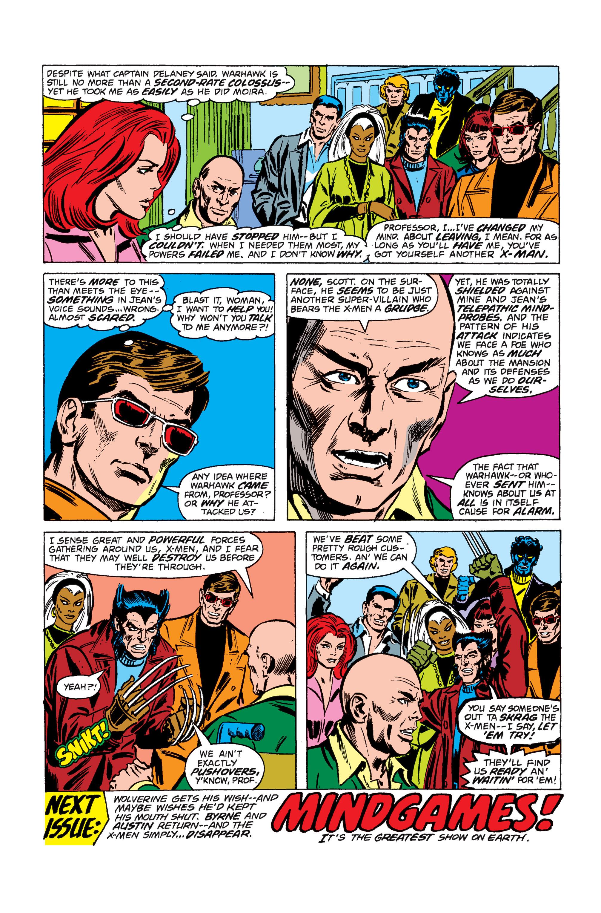 Read online Uncanny X-Men (1963) comic -  Issue #110 - 18