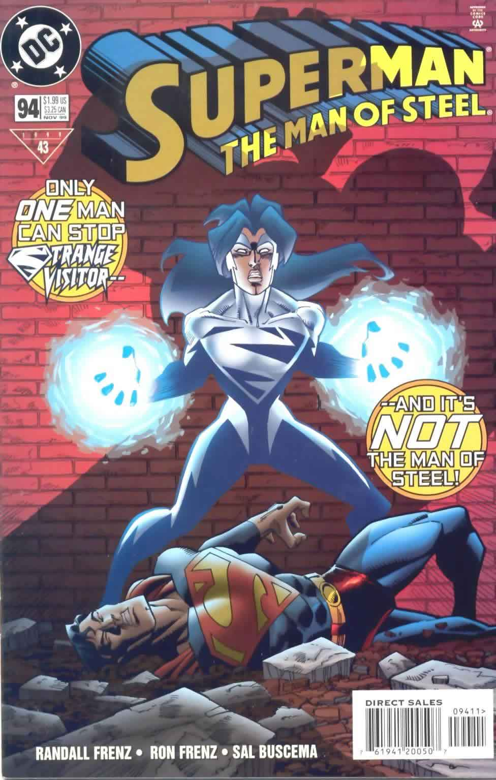 Read Online Superman The Man Of Steel 1991 Comic Issue 94