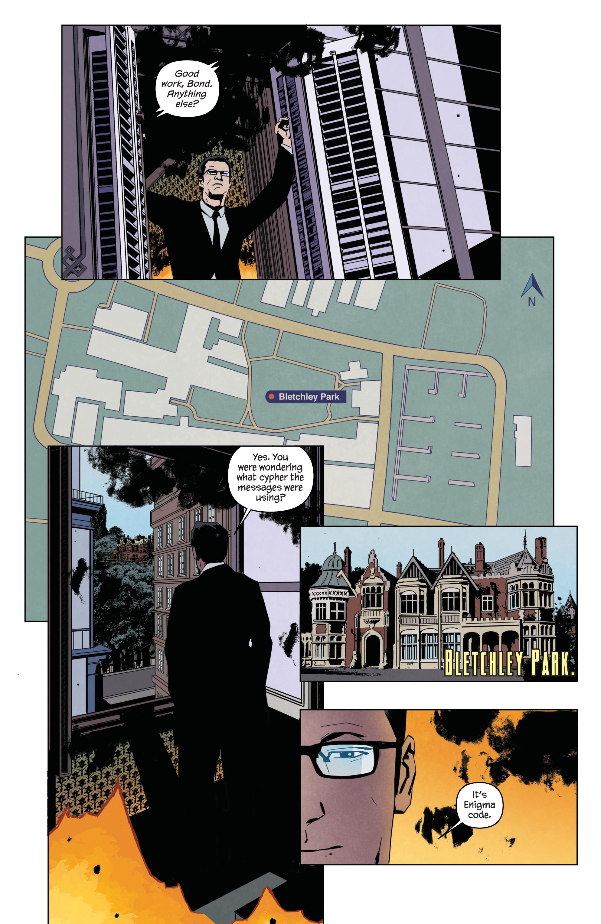 Read online James Bond: Service comic -  Issue # Full - 15