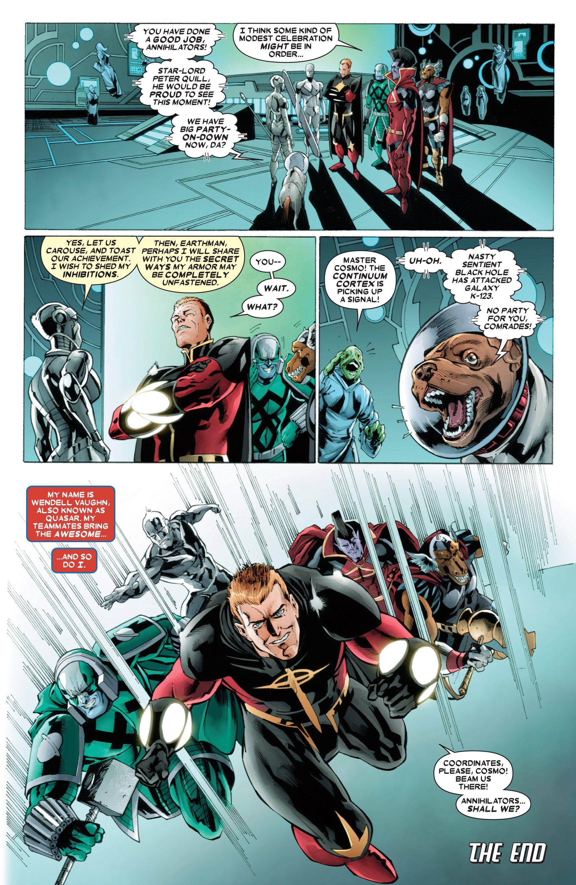 Read online Annihilators comic -  Issue #4 - 20
