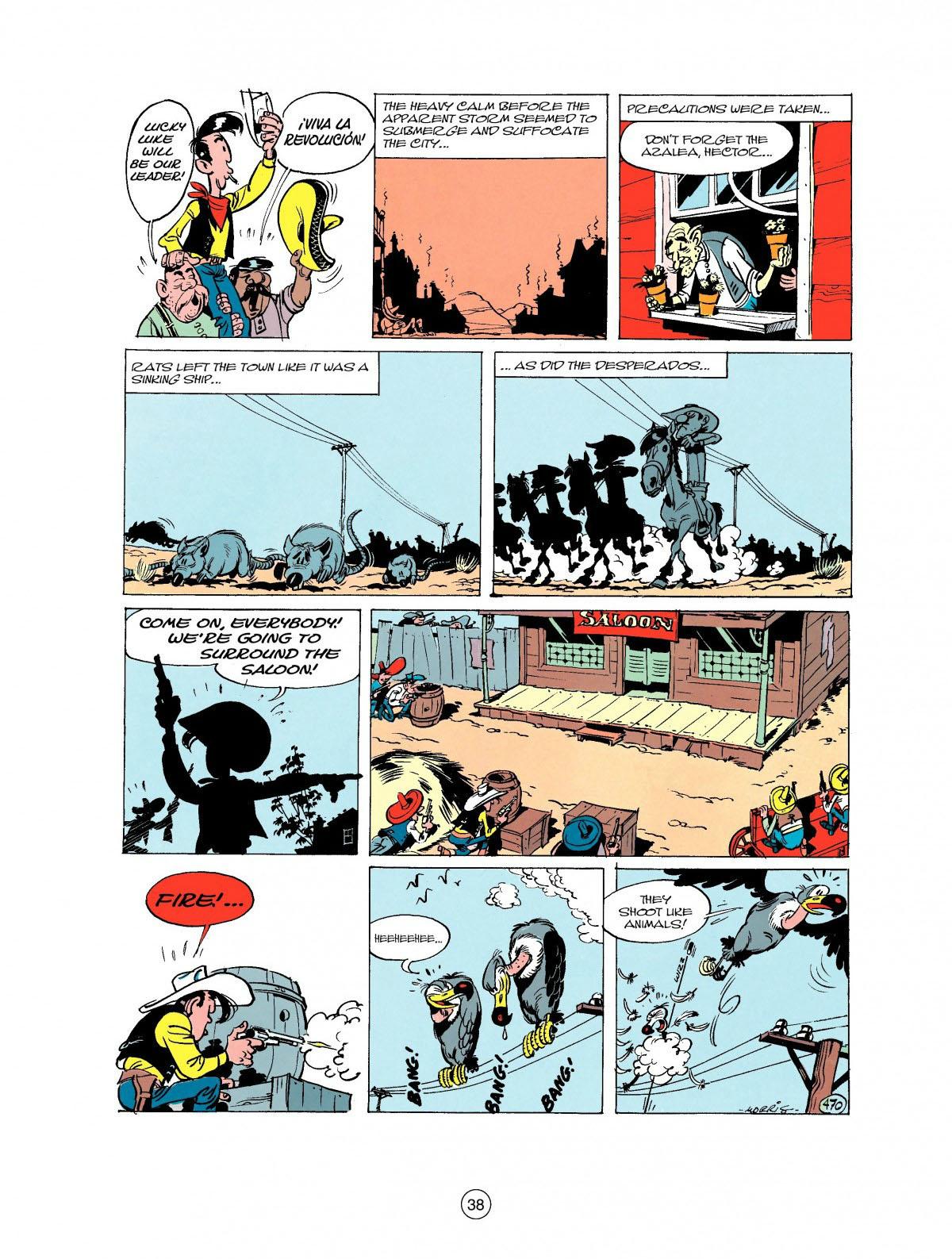 Read online A Lucky Luke Adventure comic -  Issue #27 - 39