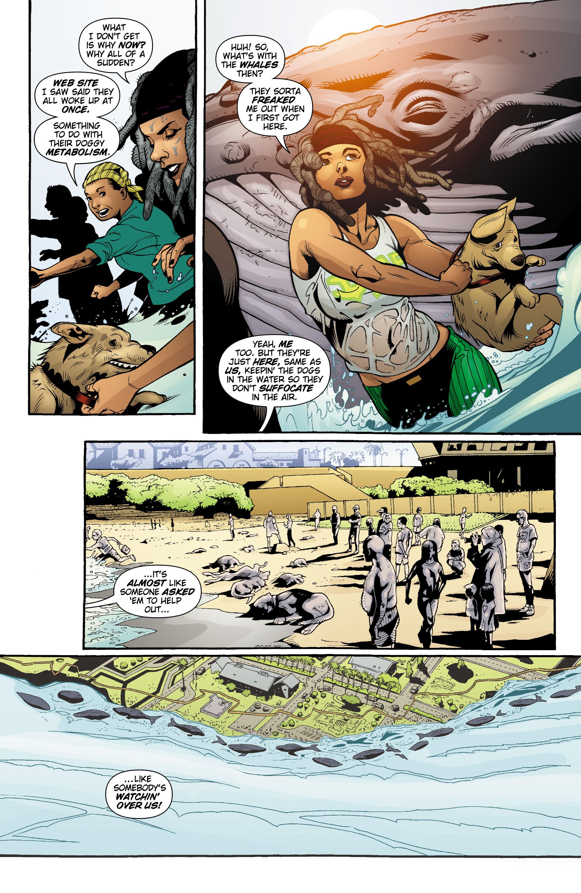 Read online Aquaman (2003) comic -  Issue #18 - 4