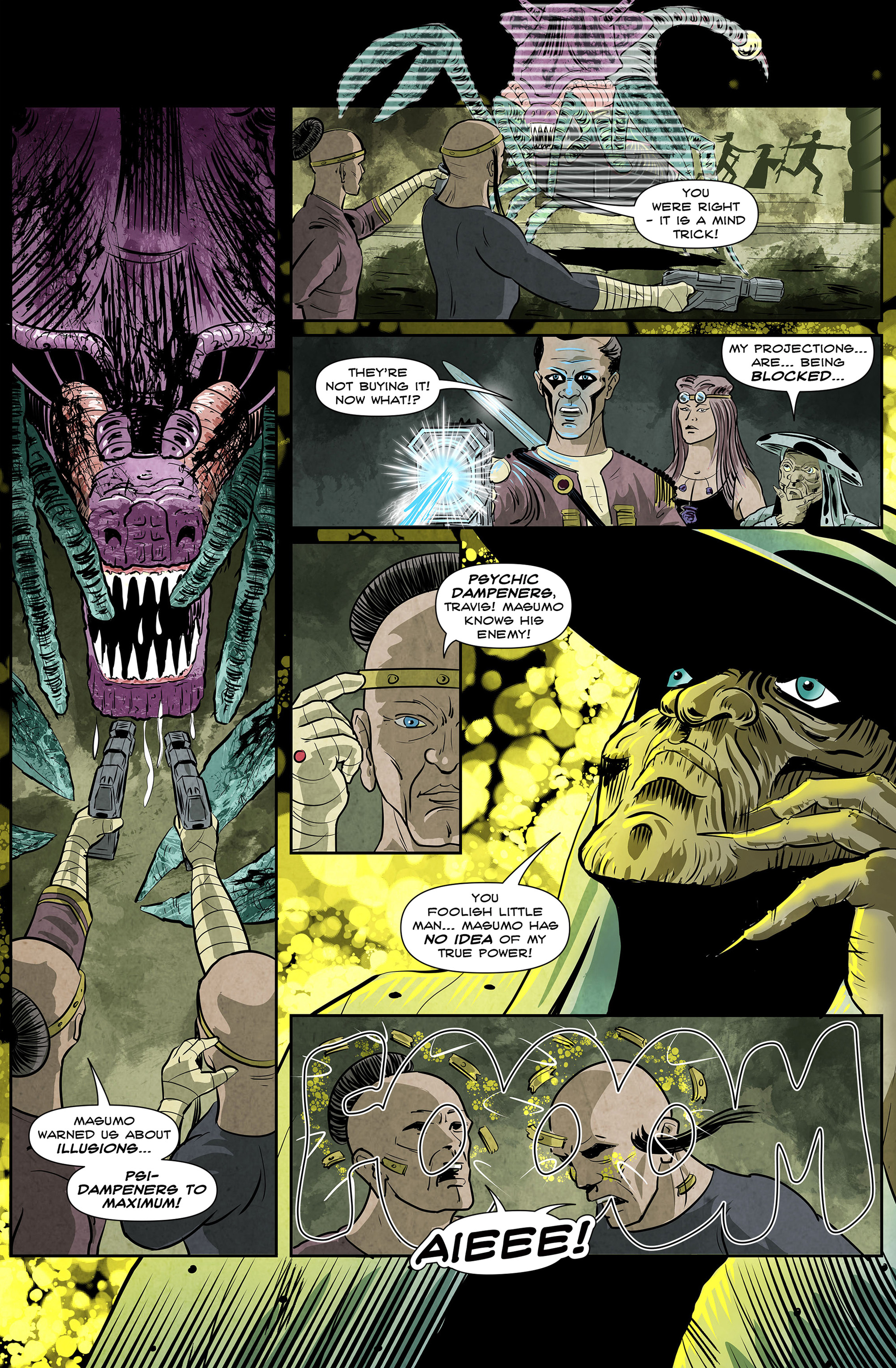 Read online 100% Biodegradable comic -  Issue #12 - 19