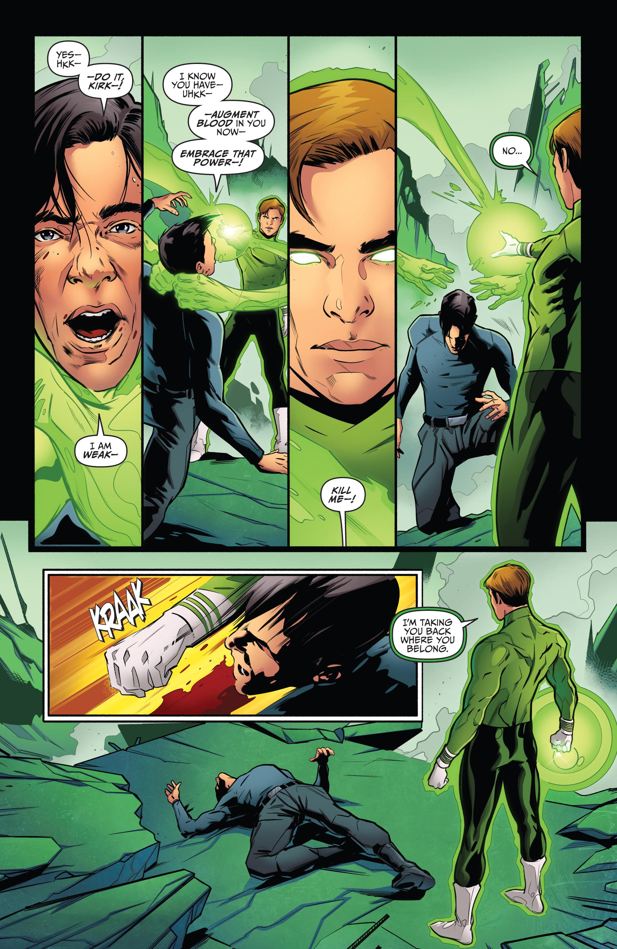 Read online Star Trek/Green Lantern (2016) comic -  Issue #6 - 13