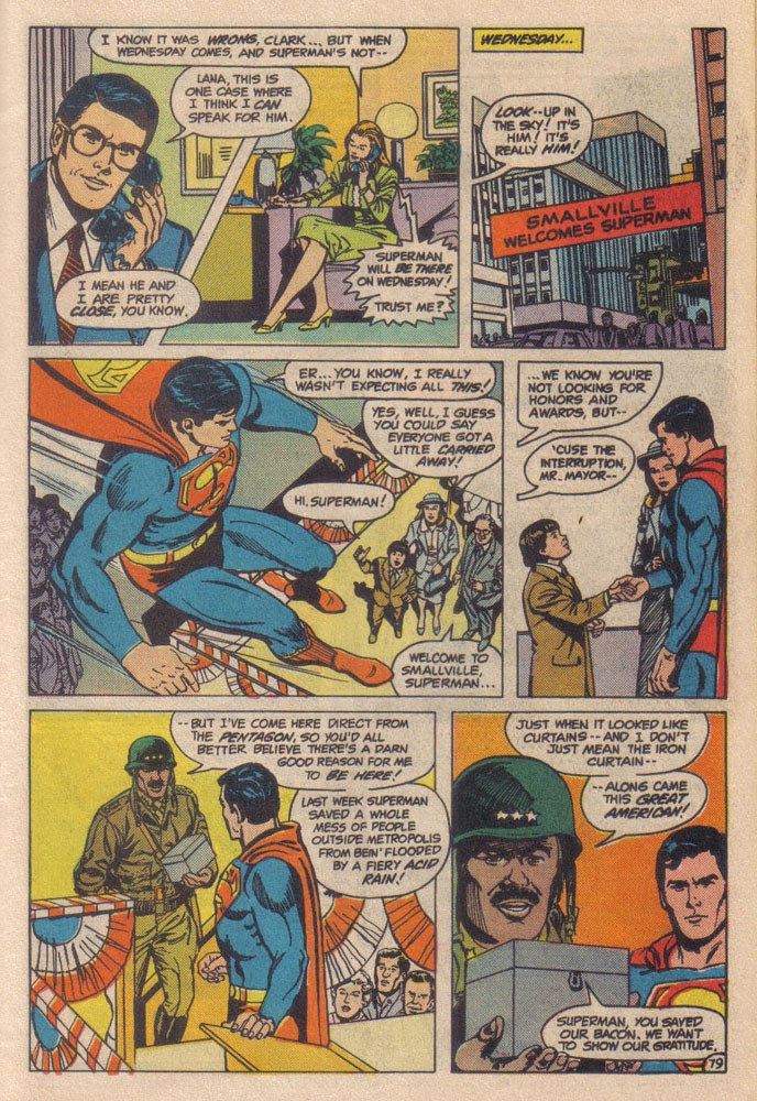 Read online Superman III comic -  Issue # Full - 31
