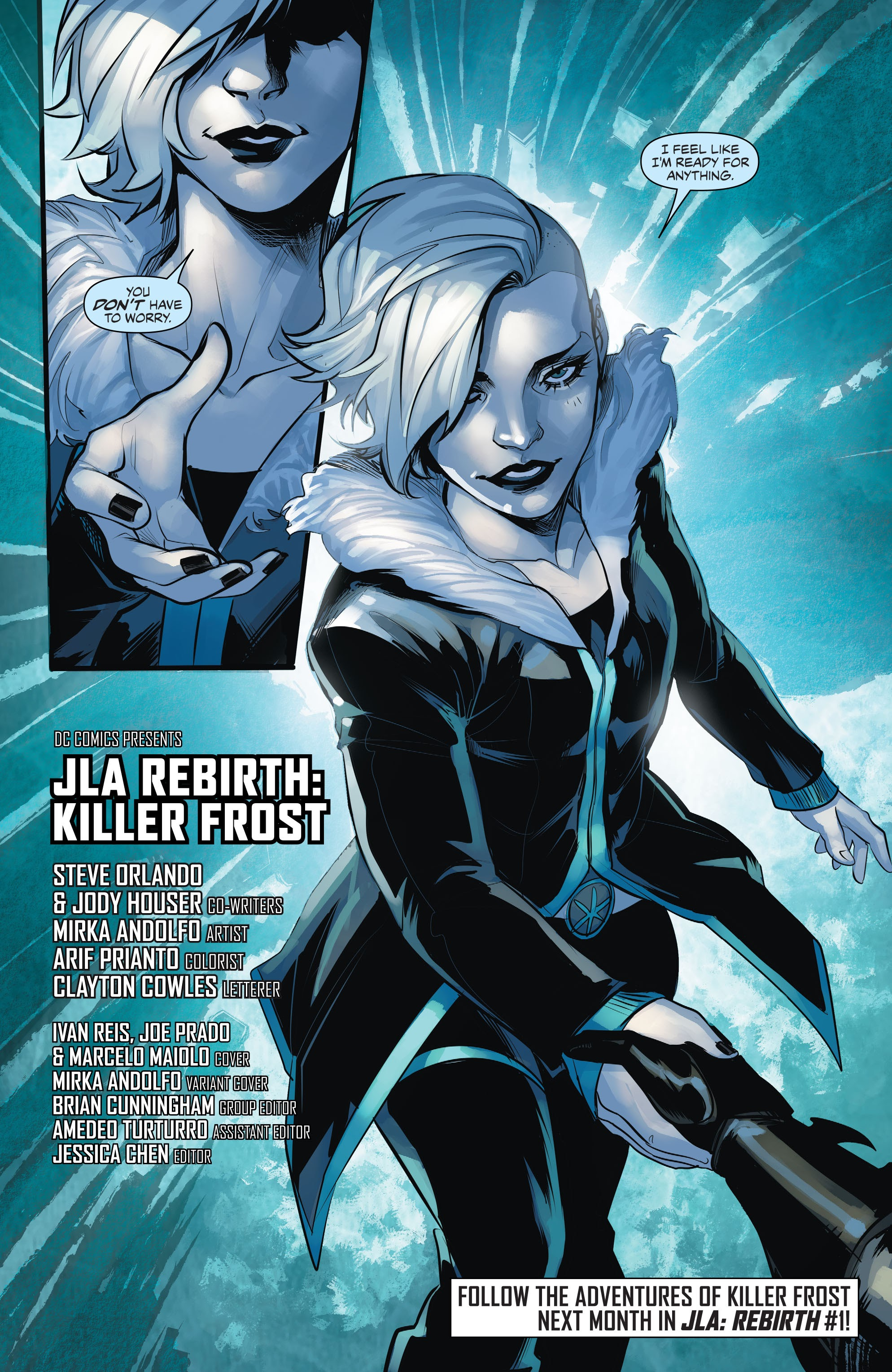 Read online Justice League of America: Killer Frost - Rebirth comic -  Issue # Full - 23