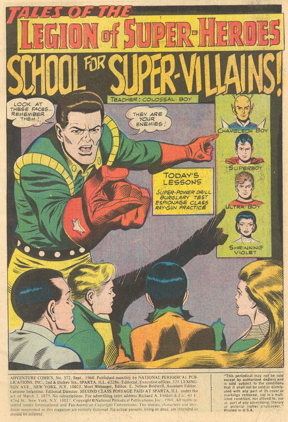 Read online Adventure Comics (1938) comic -  Issue #372 - 2