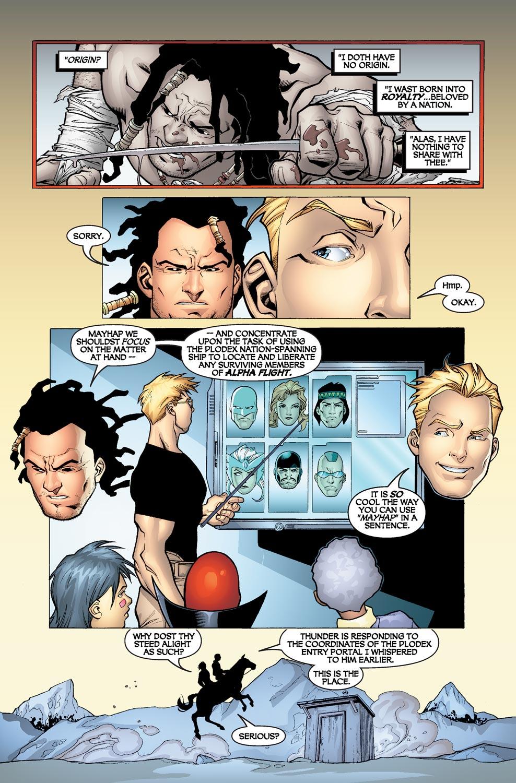 Read online Alpha Flight (2004) comic -  Issue #4 - 9