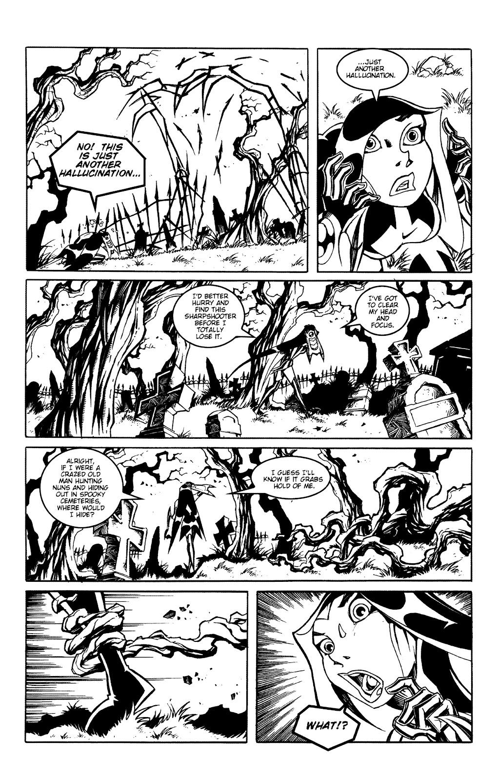 Warrior Nun Areala:  Dangerous Game Issue #2 #2 - English 11