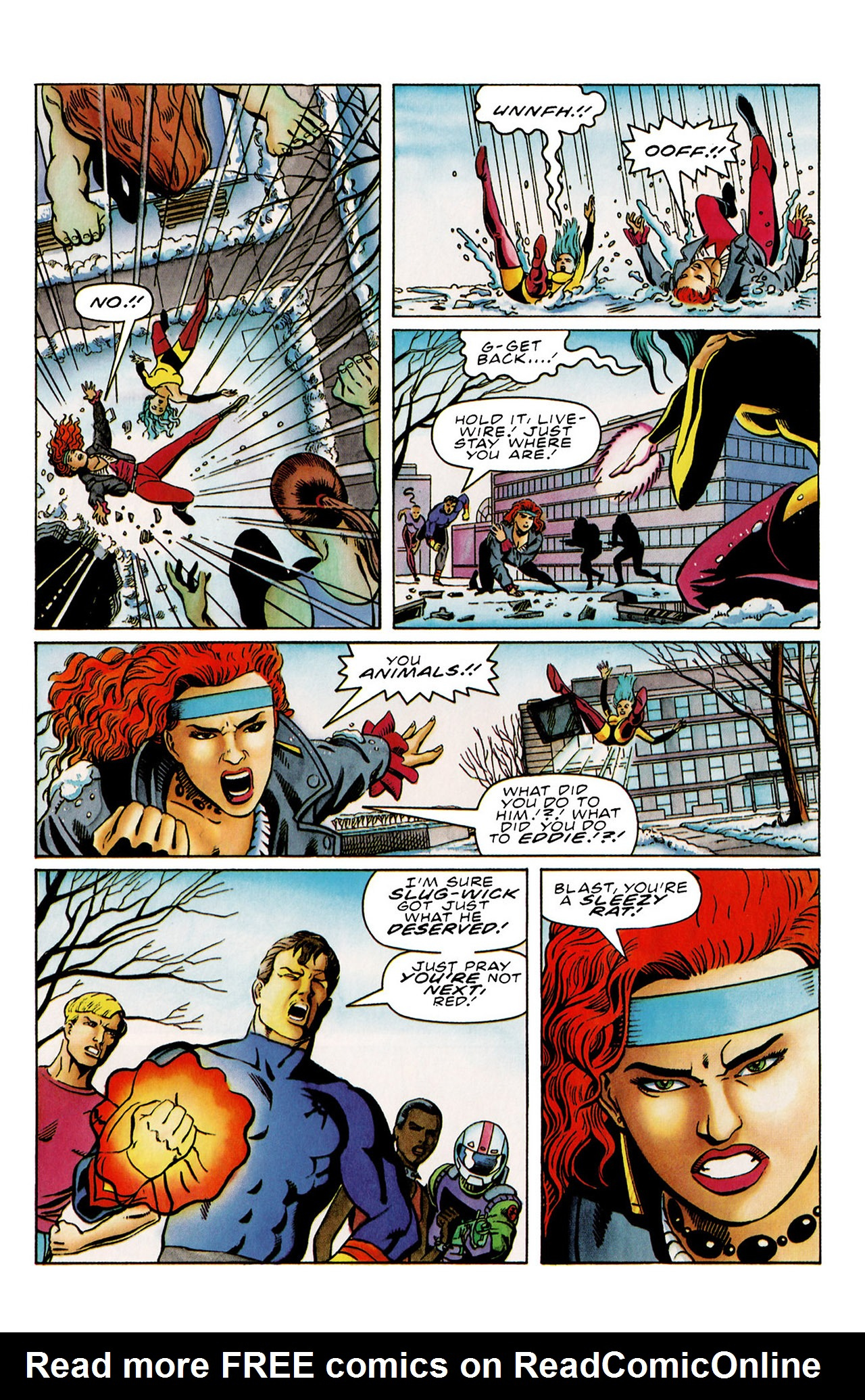 Read online Harbinger (1992) comic -  Issue #29 - 10