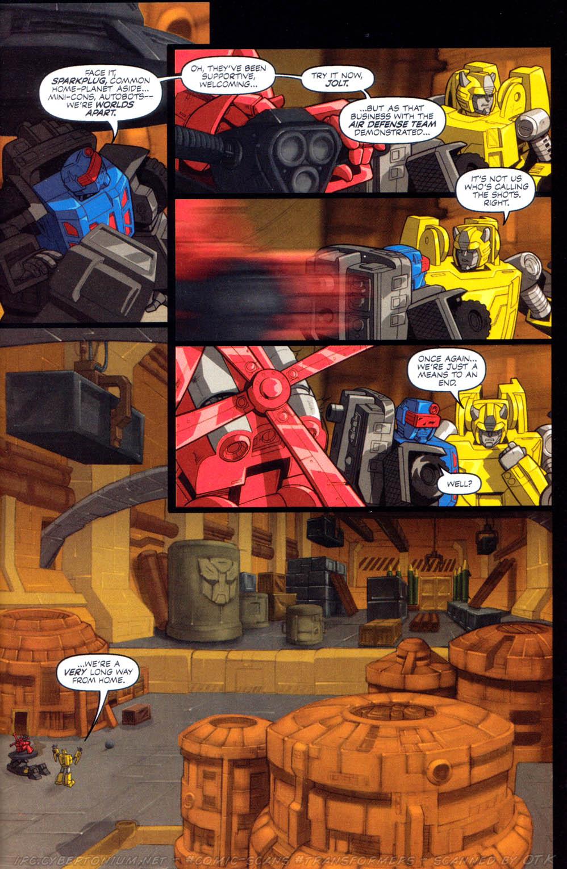 Read online Transformers Armada comic -  Issue #8 - 6