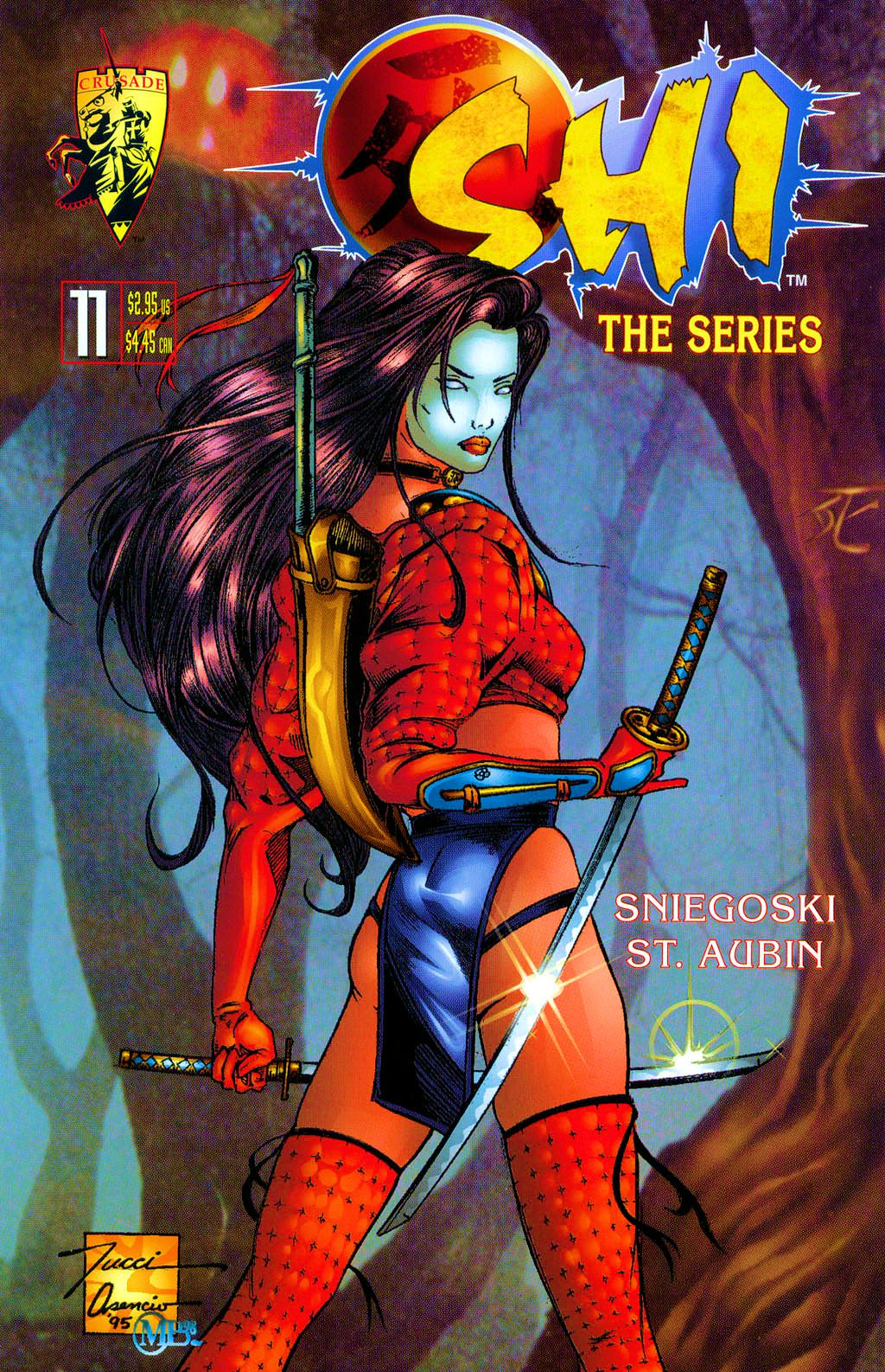 Read online Shi: The Series comic -  Issue #11 - 1