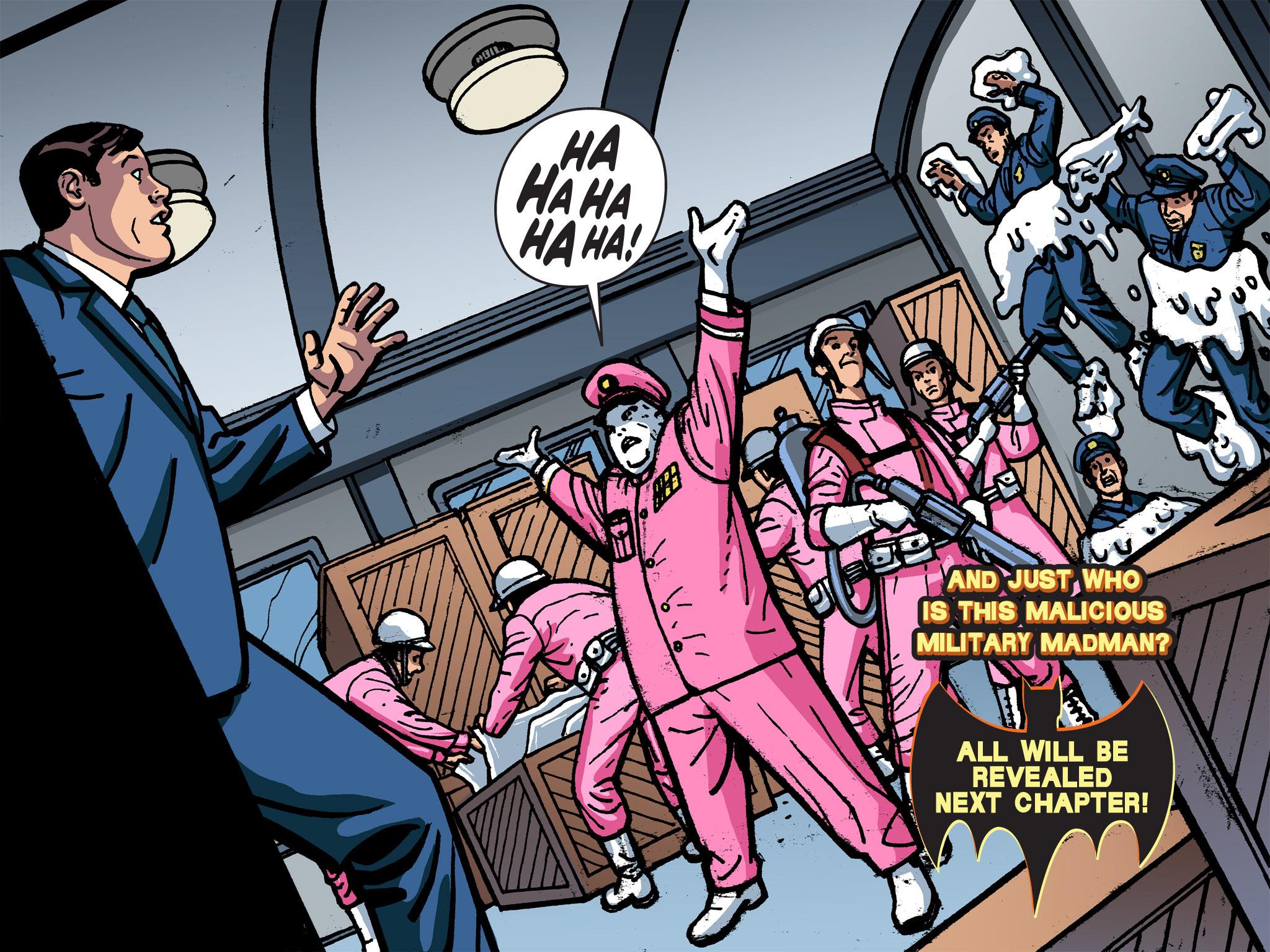 Read online Batman '66 Meets the Green Hornet [II] comic -  Issue #1 - 98