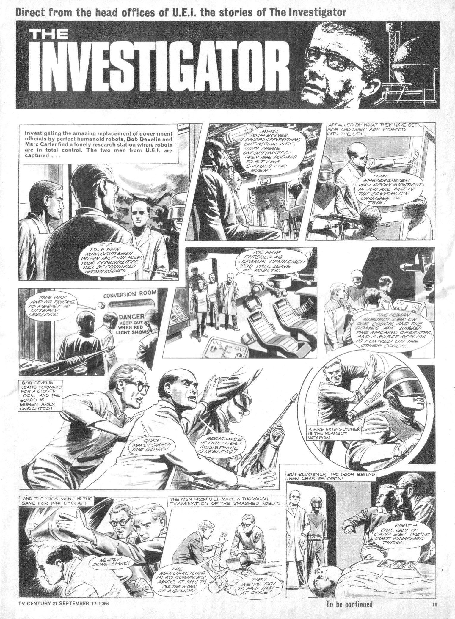Read online TV Century 21 (TV 21) comic -  Issue #87 - 14