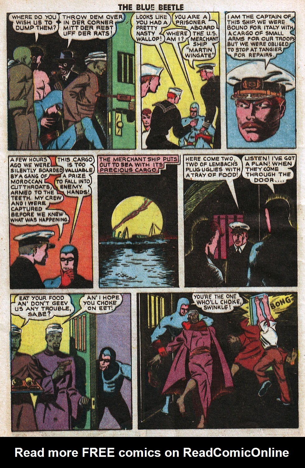 The Blue Beetle issue 33 - Page 10